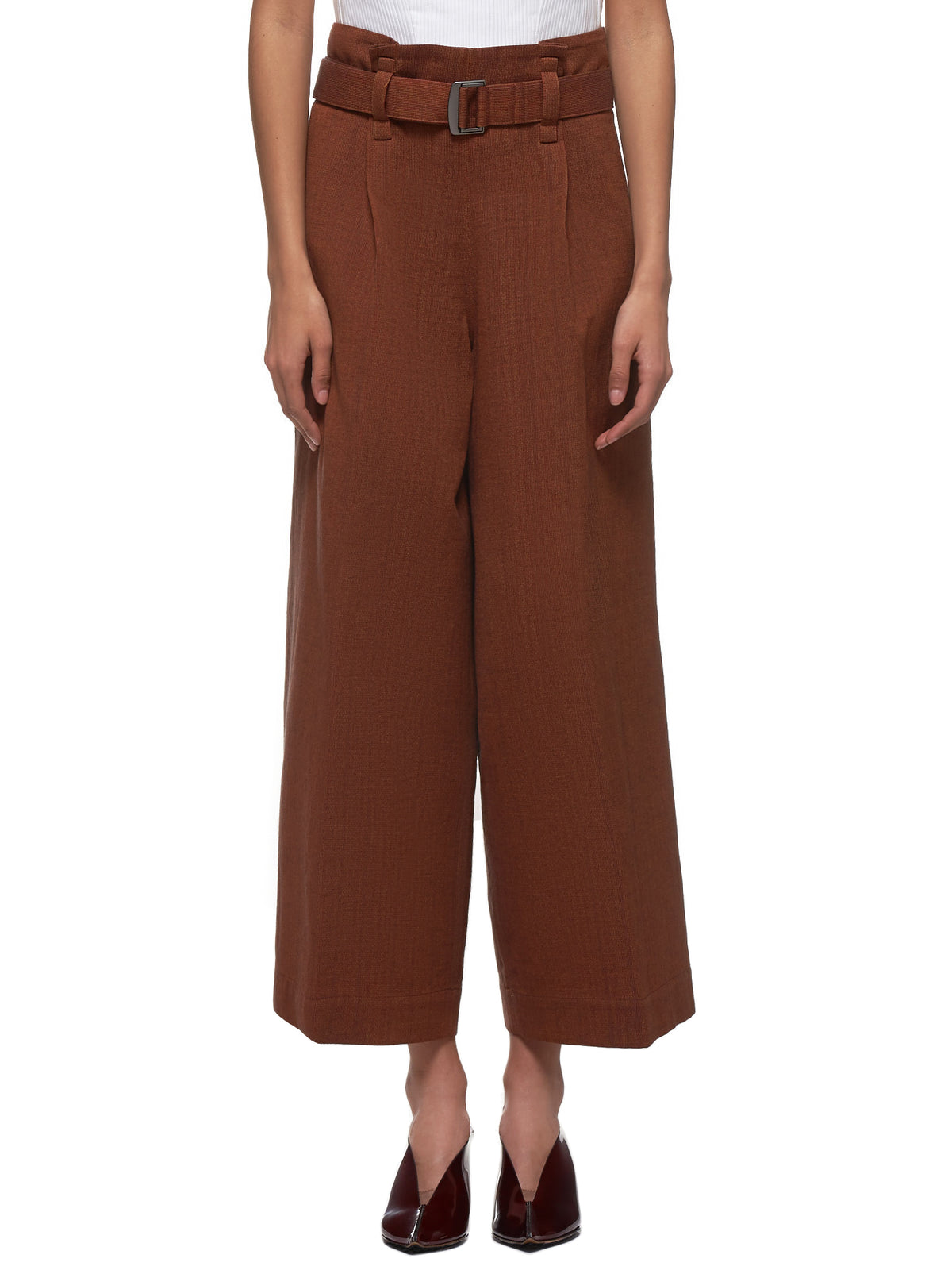 Double Face Stripe Trouser (IL06FF315-RUST)