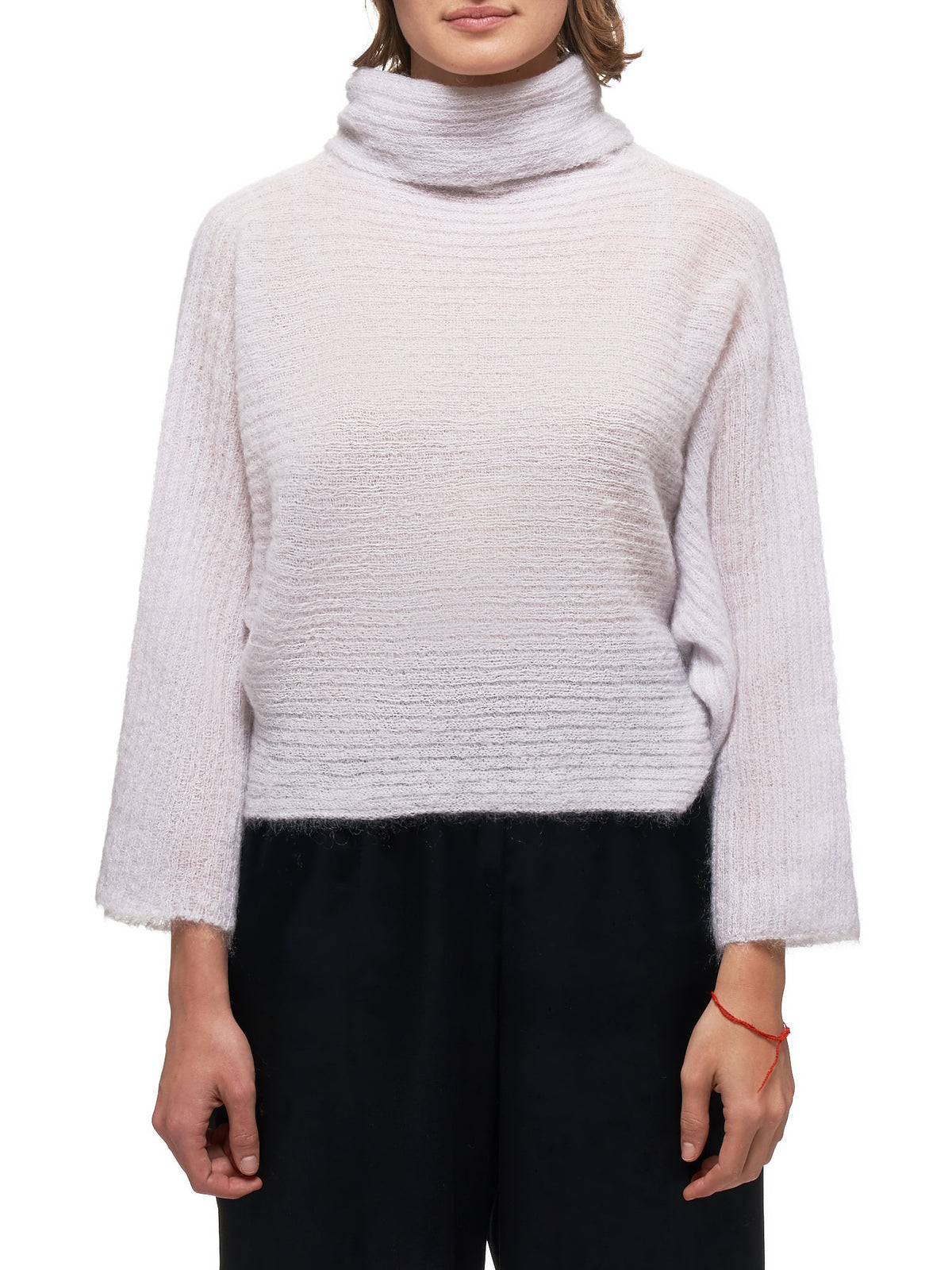 Knitted Sweater (IL98KN741-LIGHT-GRAY)