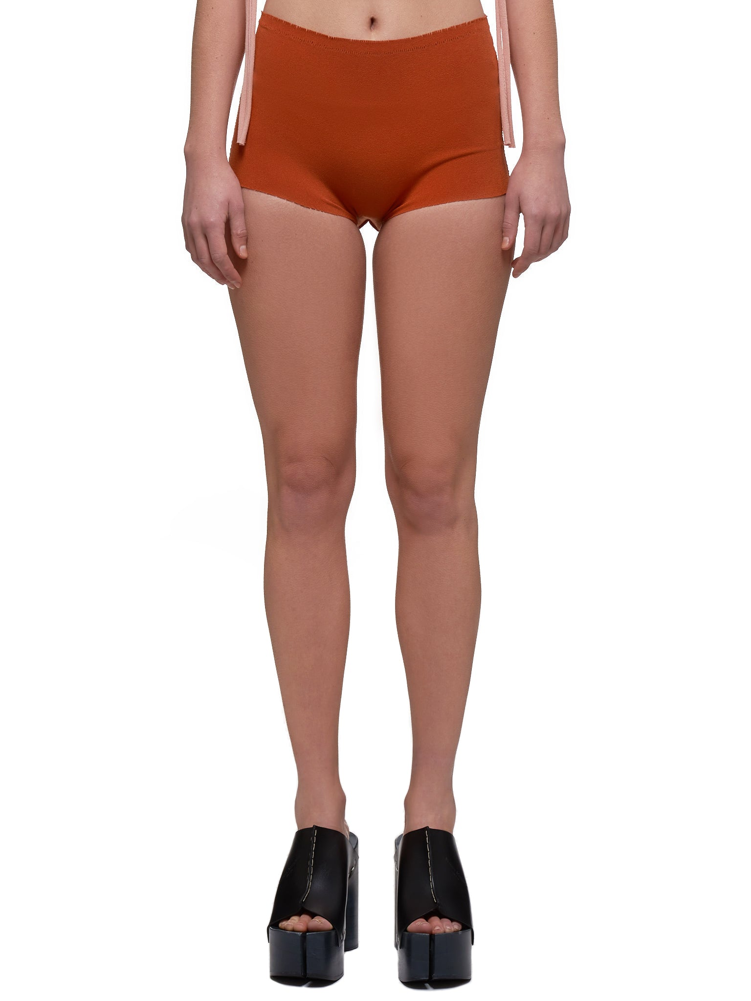 High-Waisted Panties (IM07KF807-ORANGE)