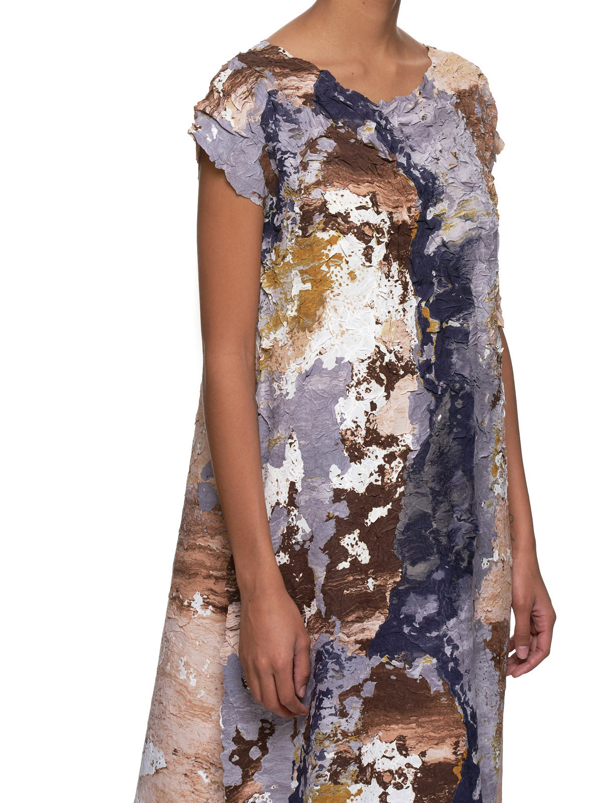 Paint Crush Dress (IM97FH639-GRAY-MULTI)