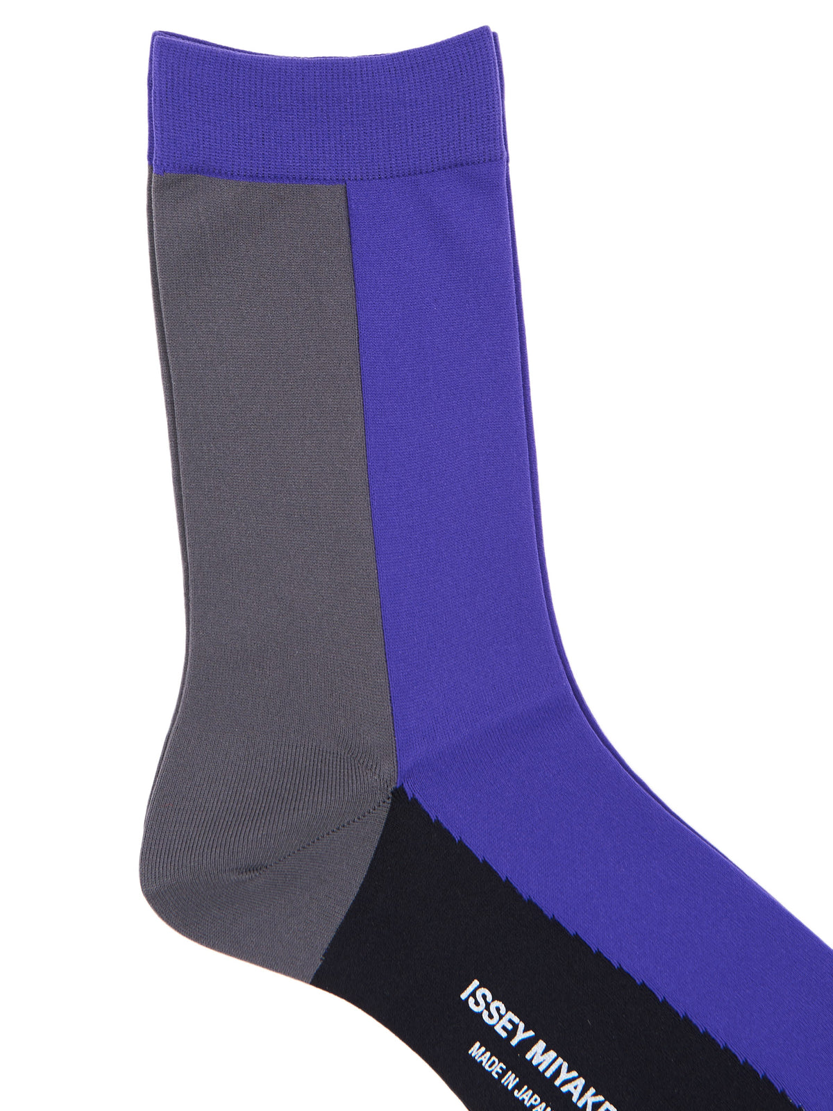 Cubic Socks (IM99AI403-PURPLE-BLACK)
