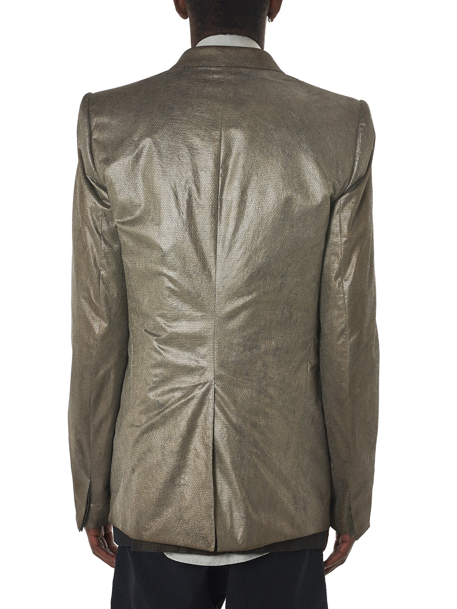 Deepti Oxidized Jacket - Hlorenzo Back