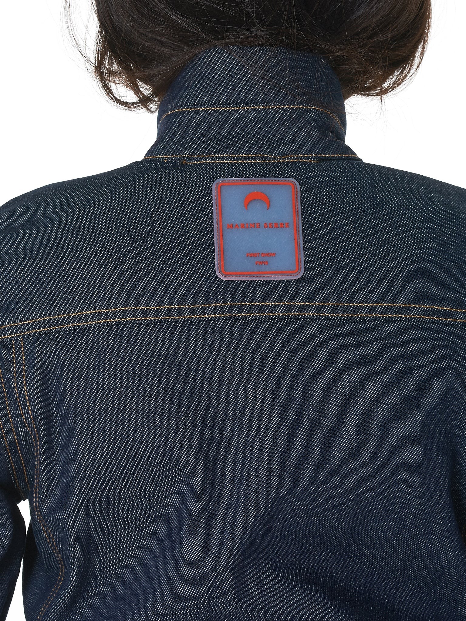 Sculpted Denim Jacket (J03-BLUE-DENIM)