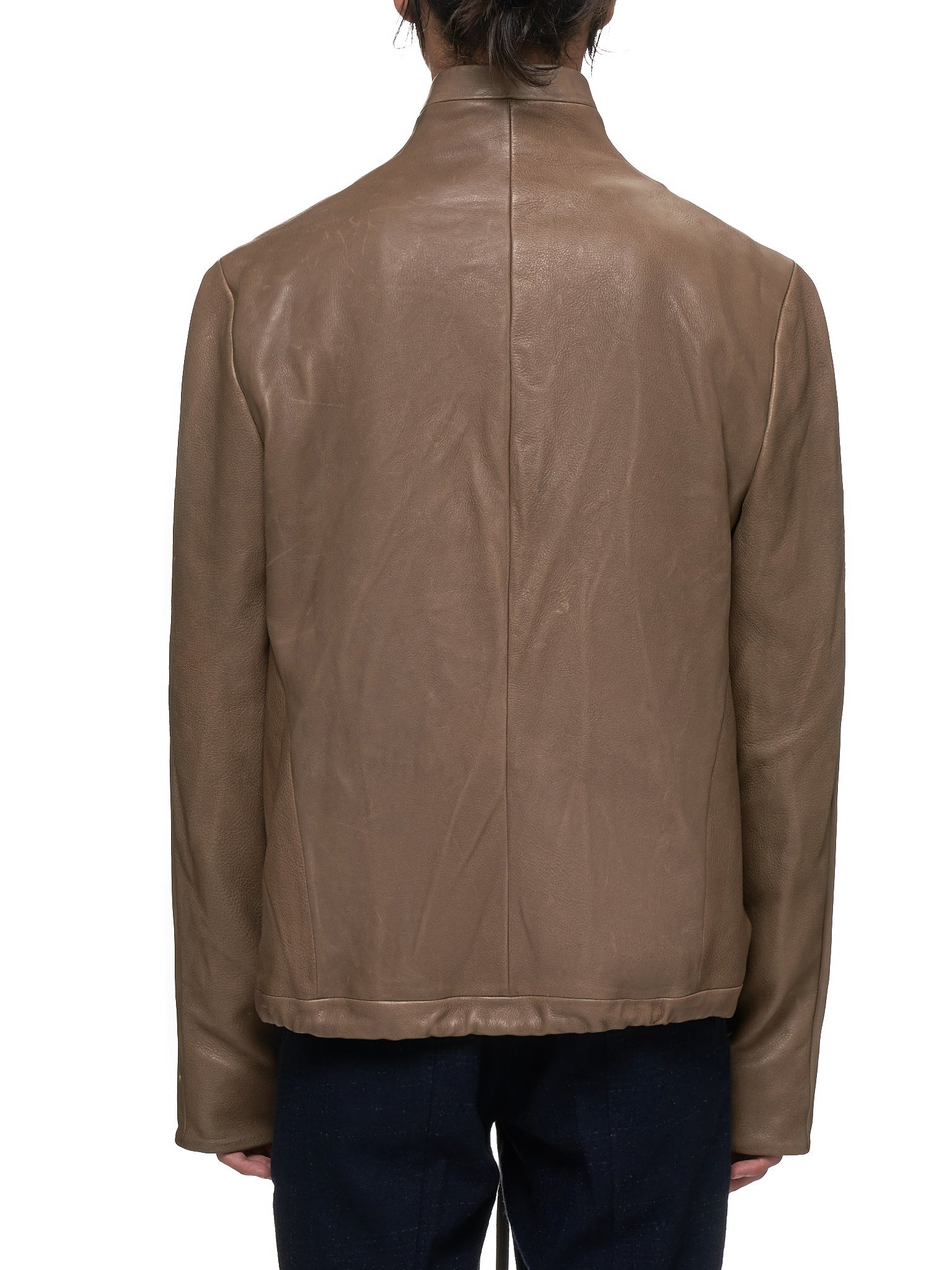 MA+ Leather Jacket - Hlorenzo Back