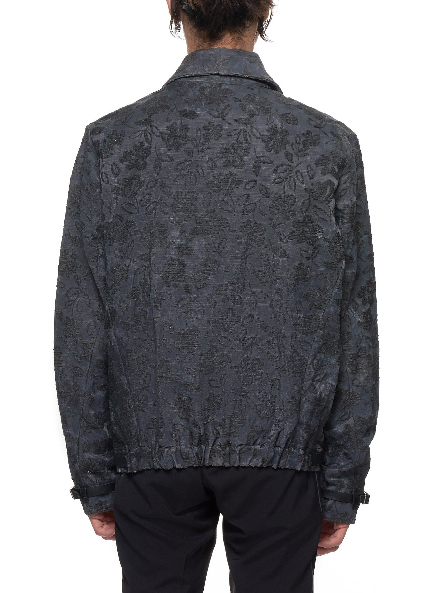 Textured Jacket (J410Z-FLOS-BLACK)