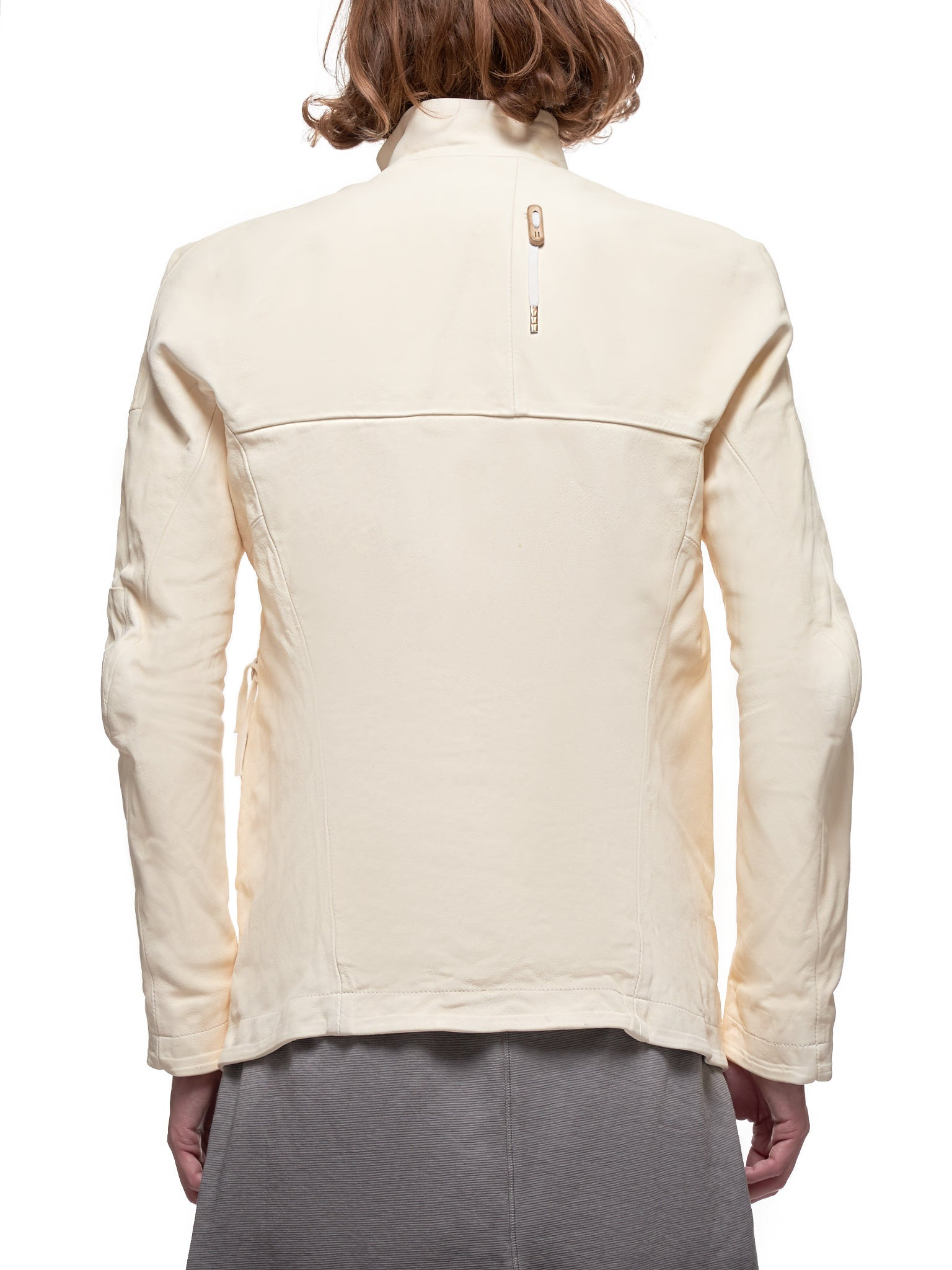 Kangaroo Leather Jacket (J5-FMM20006-WHITE-TAN)