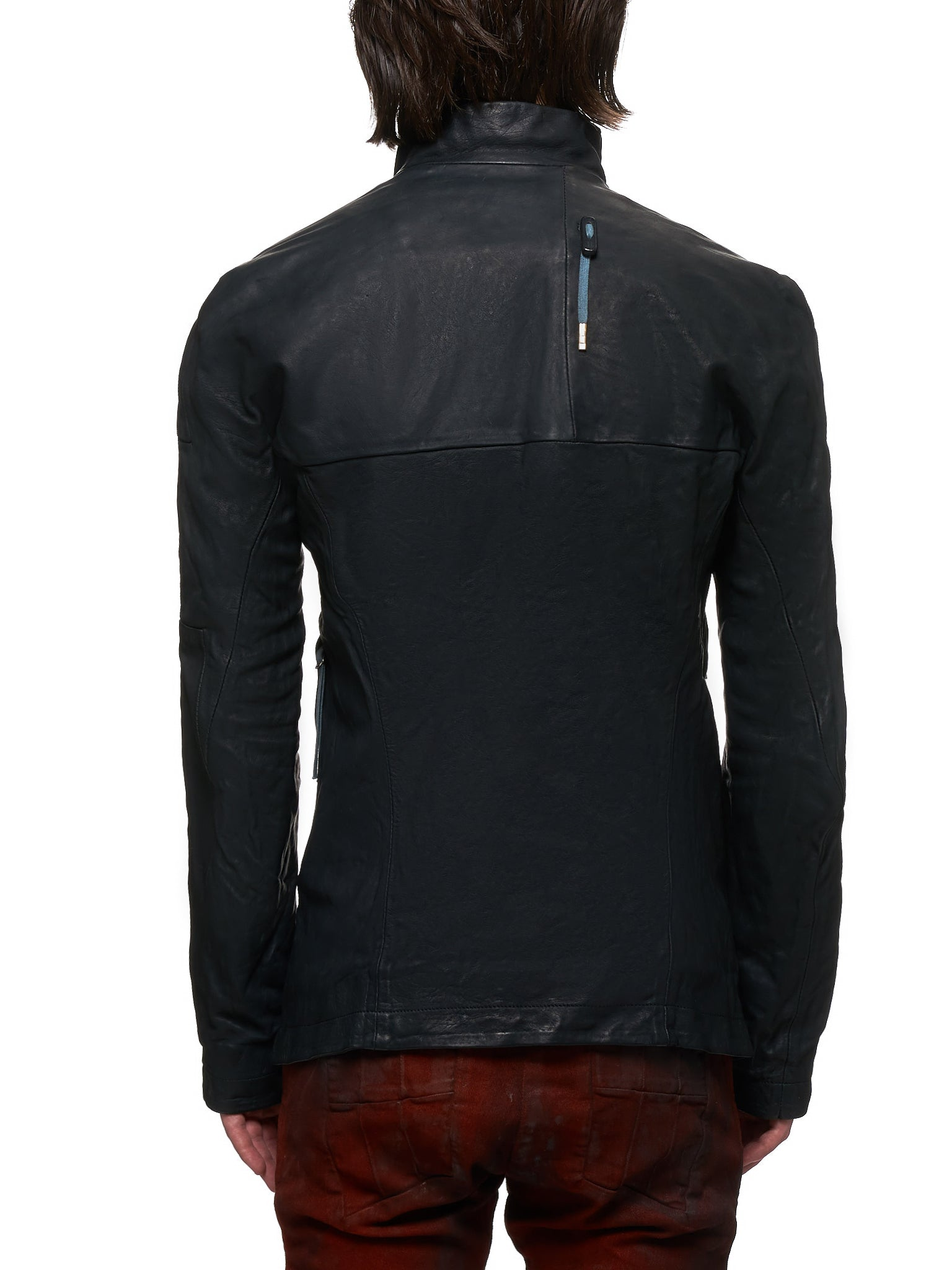 Boris Bidjan Saberi Leather J5 Jacket - Hlorenzo Back