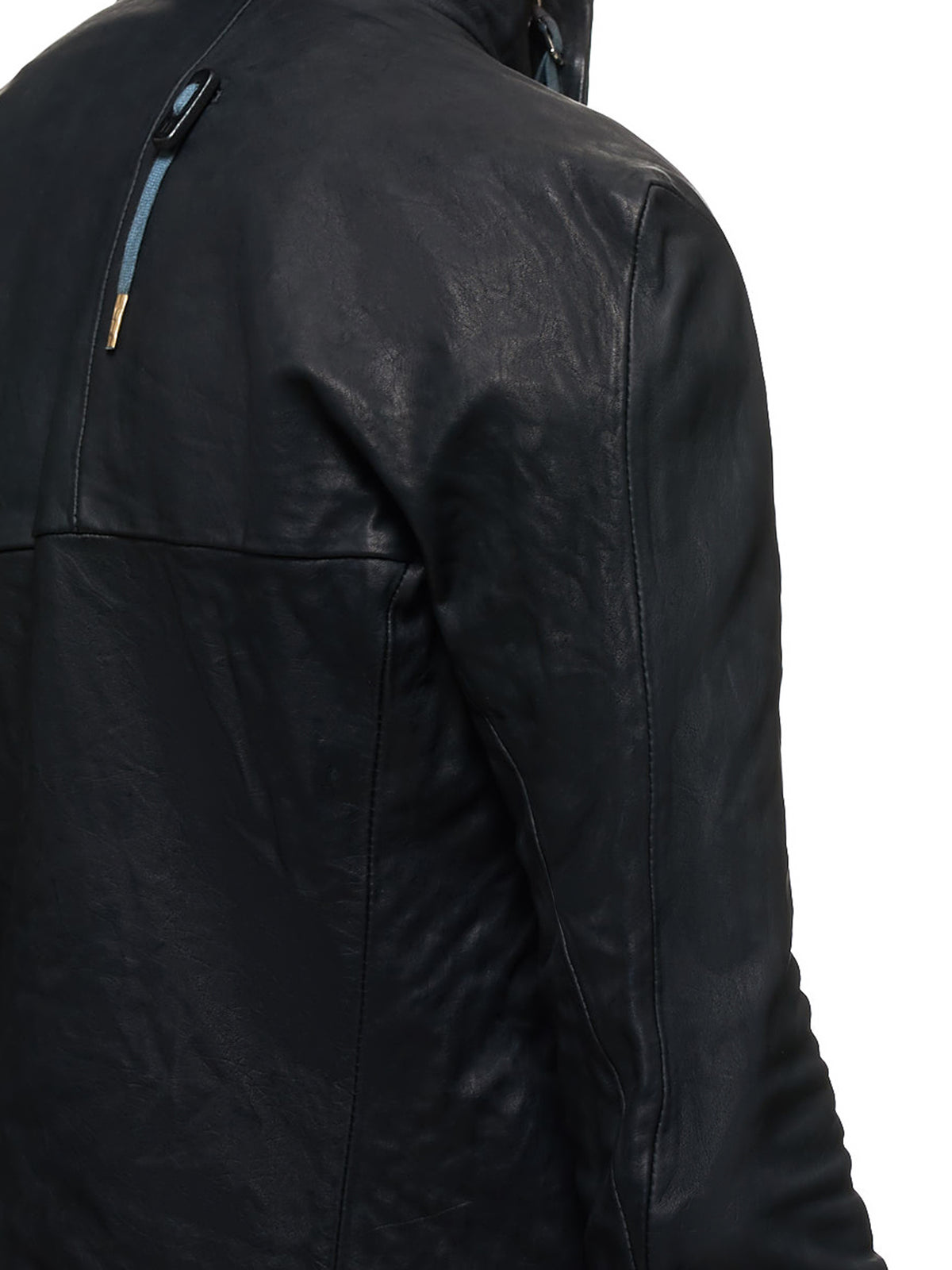 Boris Bidjan Saberi Leather J5 Jacket - Hlorenzo Detail 2
