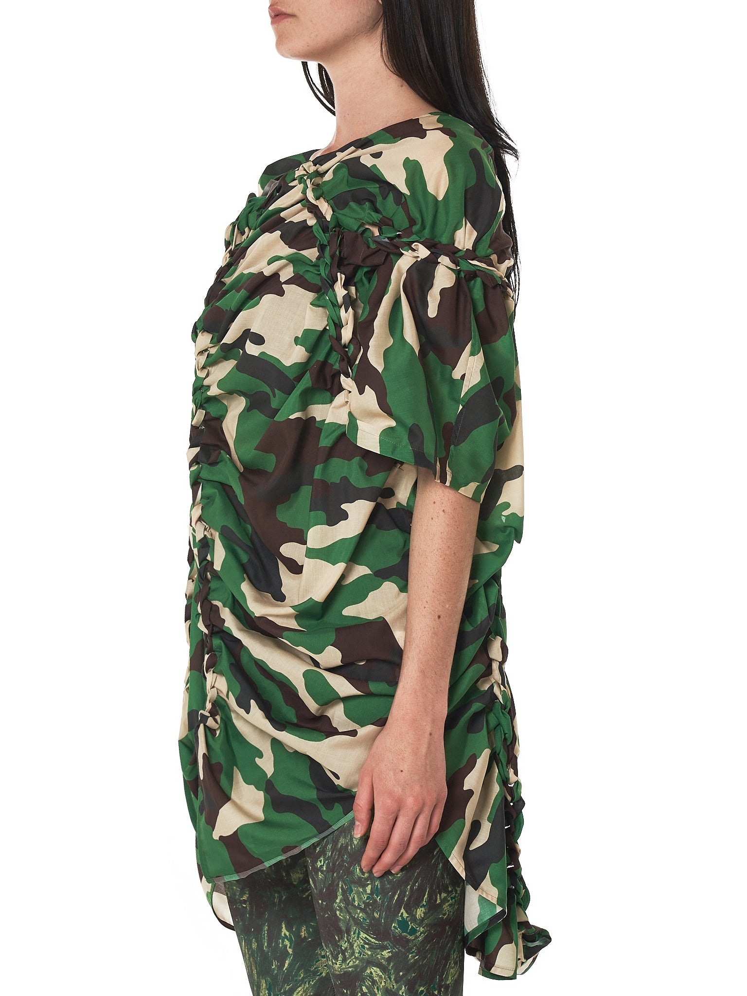 Junya Watanabe Camouflage Dress - Hlorenzo Side