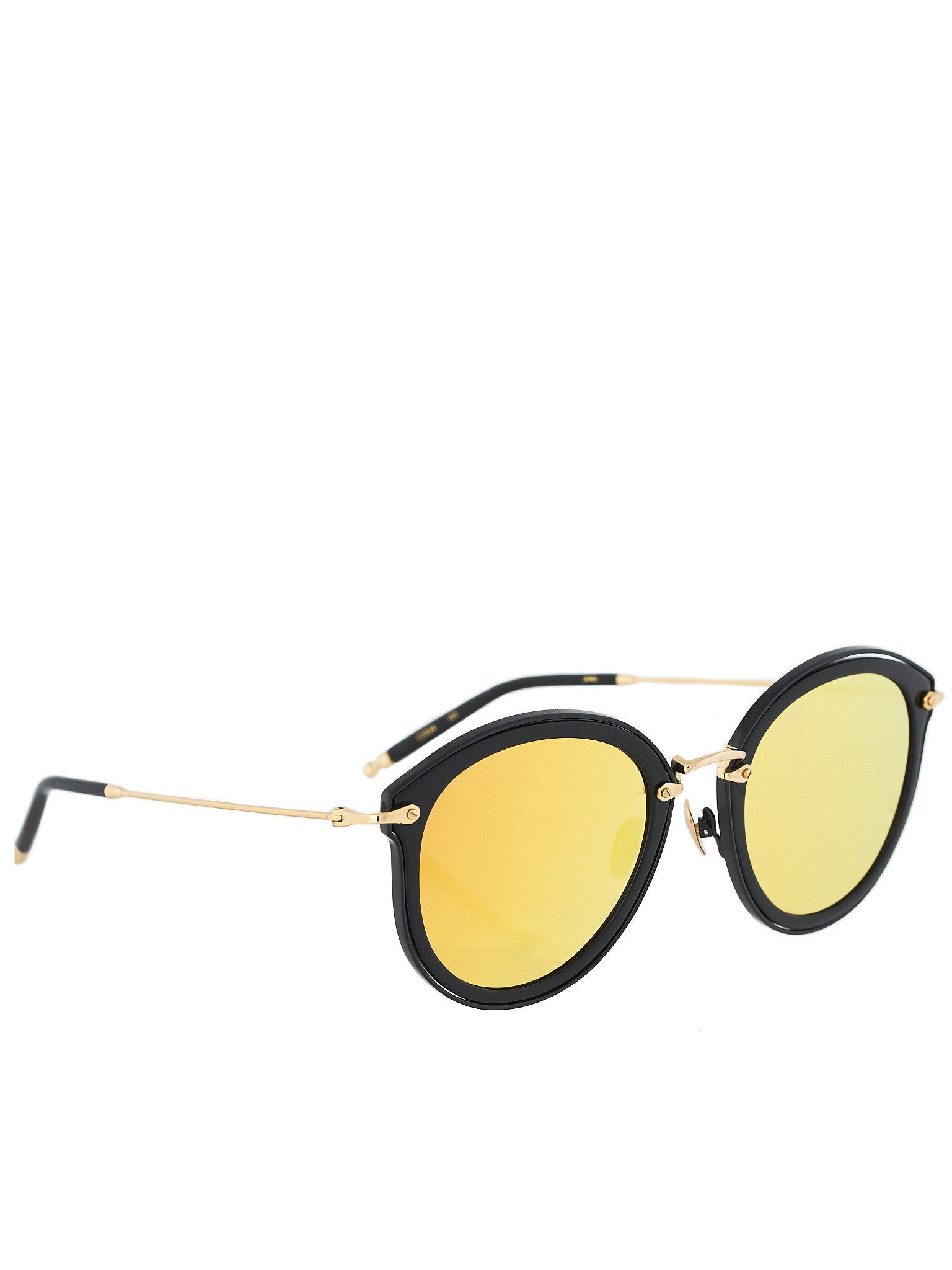 James - Black/Yellow Gold Sunglasses (JAMES-188-BLACK-YGOLD-3016-P31)