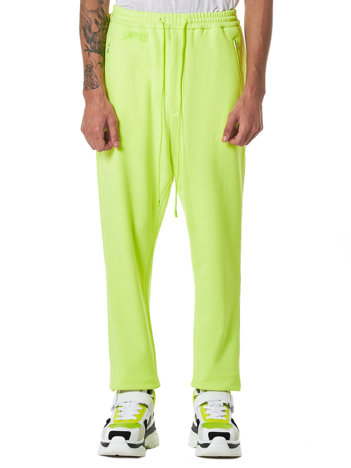 Juun.J Yellow Trousers - Hlorenzo Front