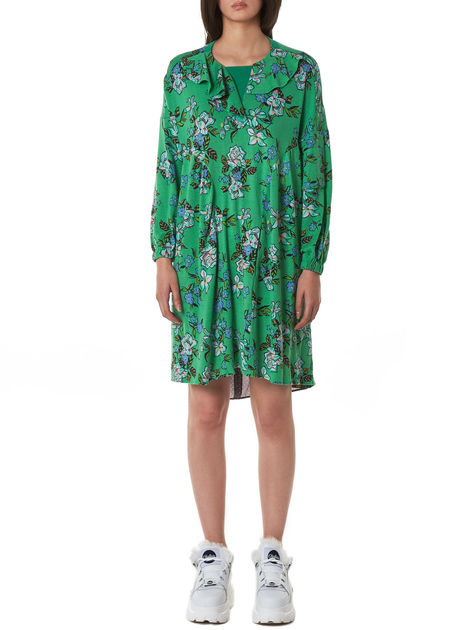 Jenny Fax Dress - Hlorenzo Front