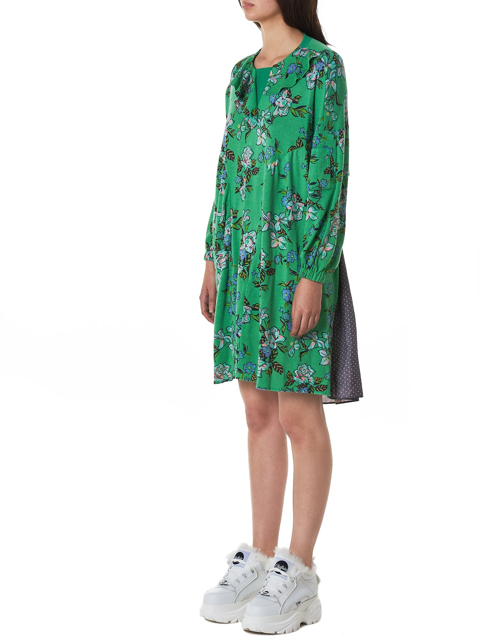 Jenny Fax Dress - Hlorenzo Side