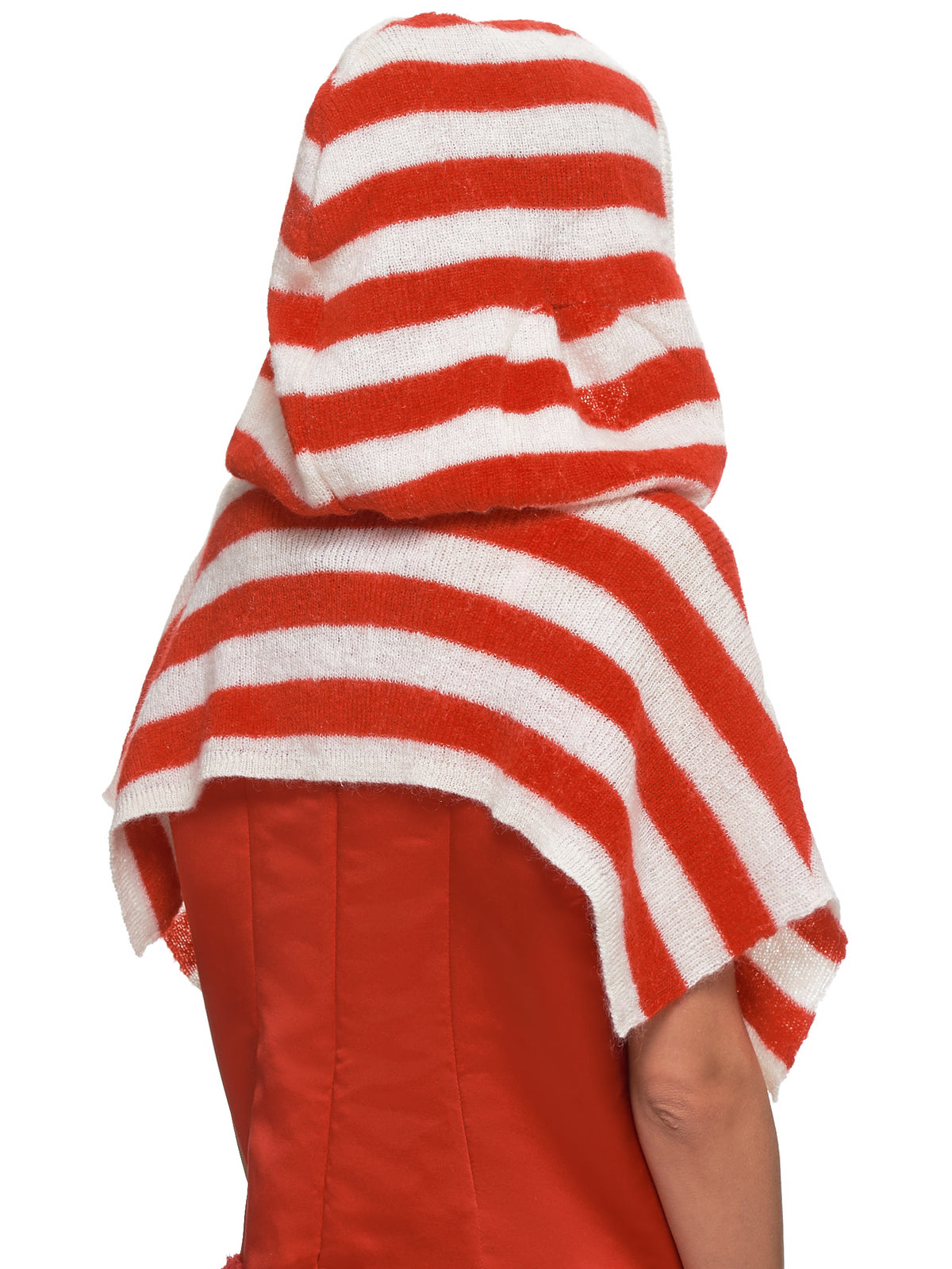 Striped Cardigan (JFAW19K01-RED)