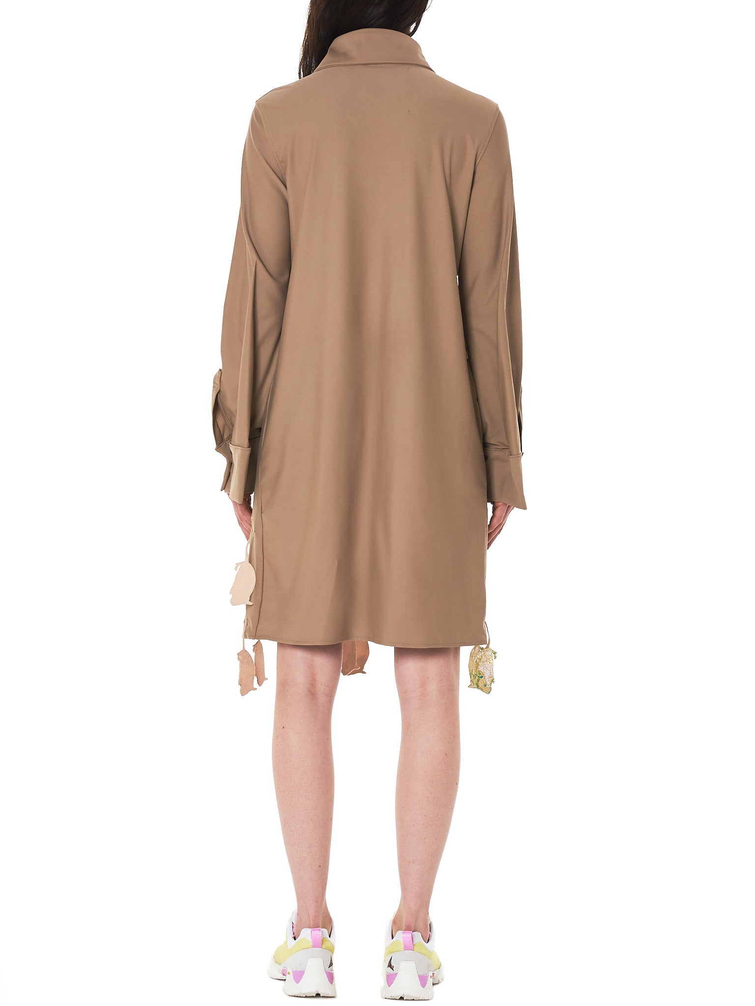 'Mouse' Tassel Long Shirt (JFSS18B011-BEIGE)