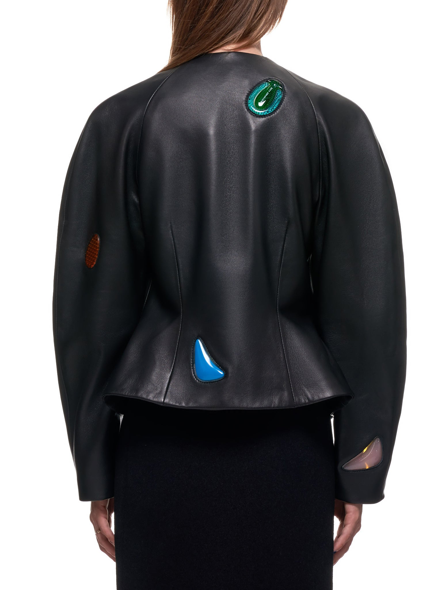 Christopher Kane Leather Jacket | H.Lorenzo Back