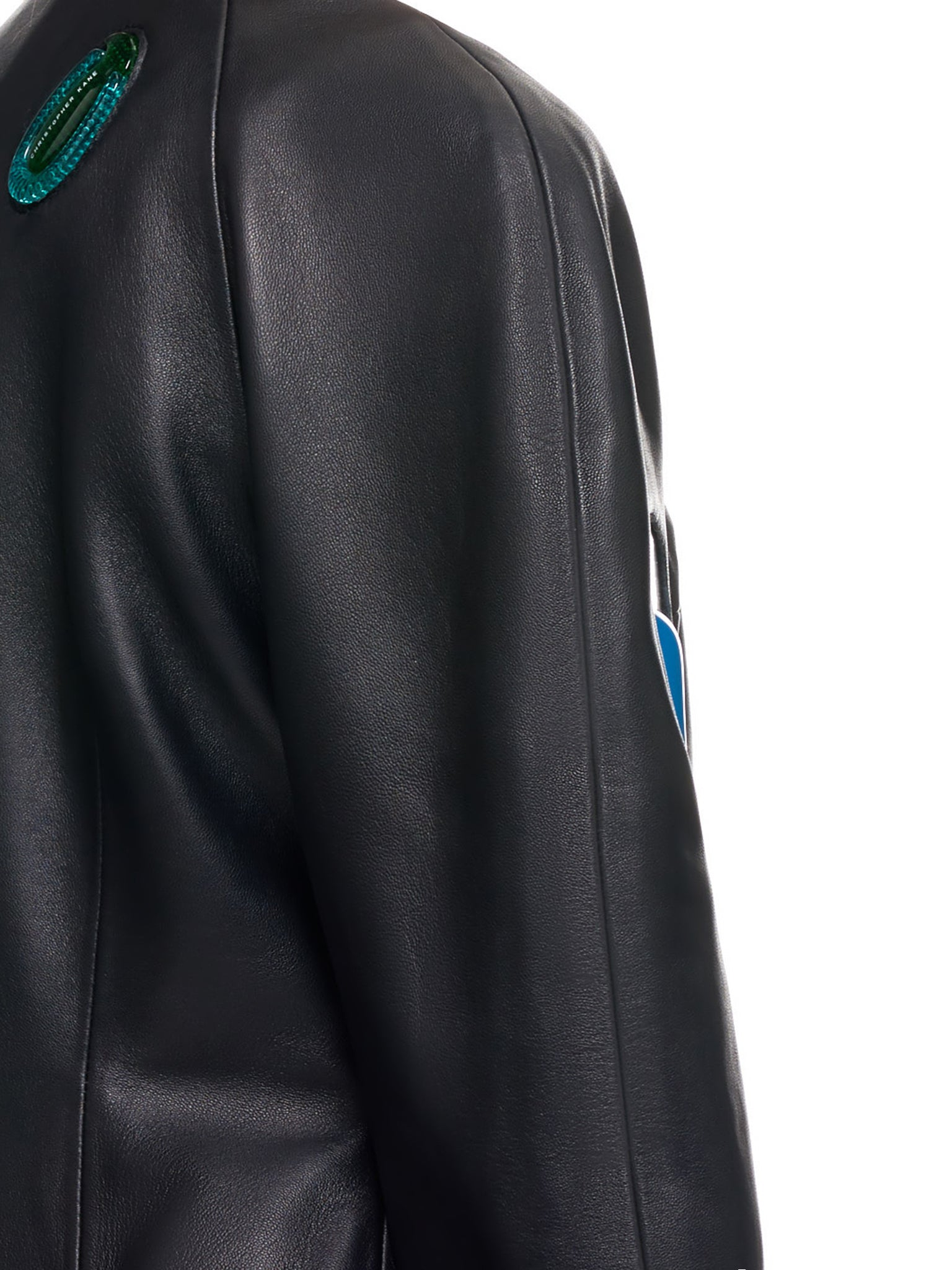 Christopher Kane Leather Jacket | H.Lorenzo Detail 2