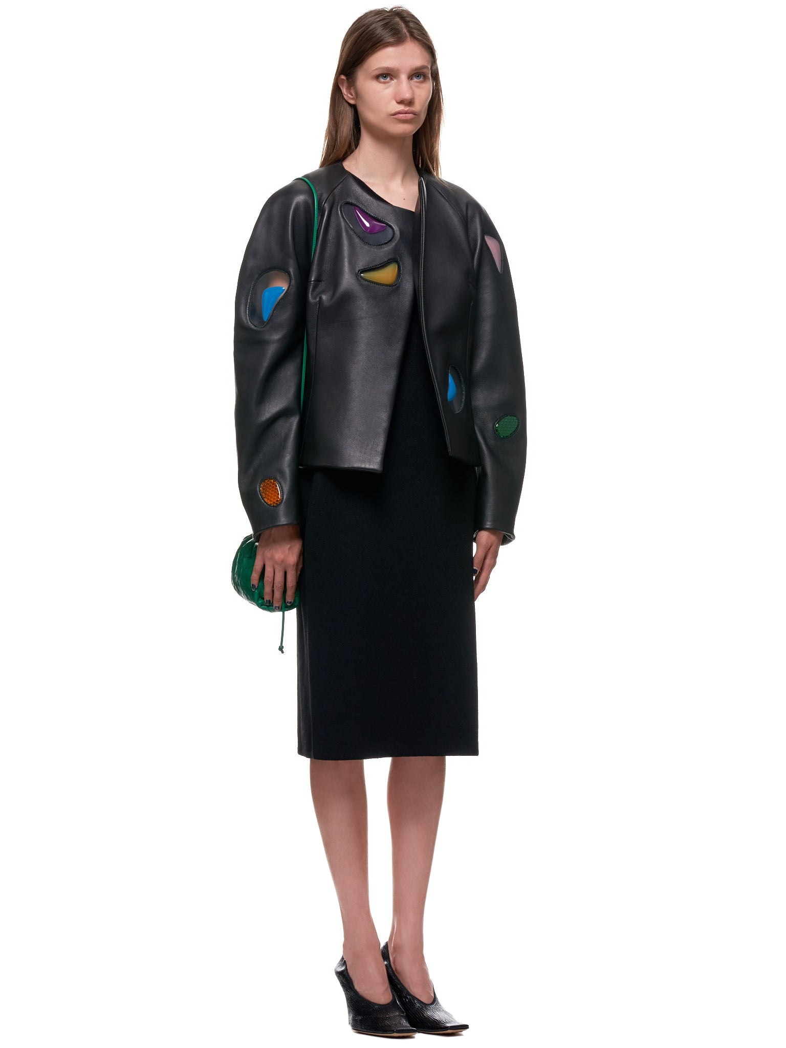 Christopher Kane Leather Jacket | H.Lorenzo Style