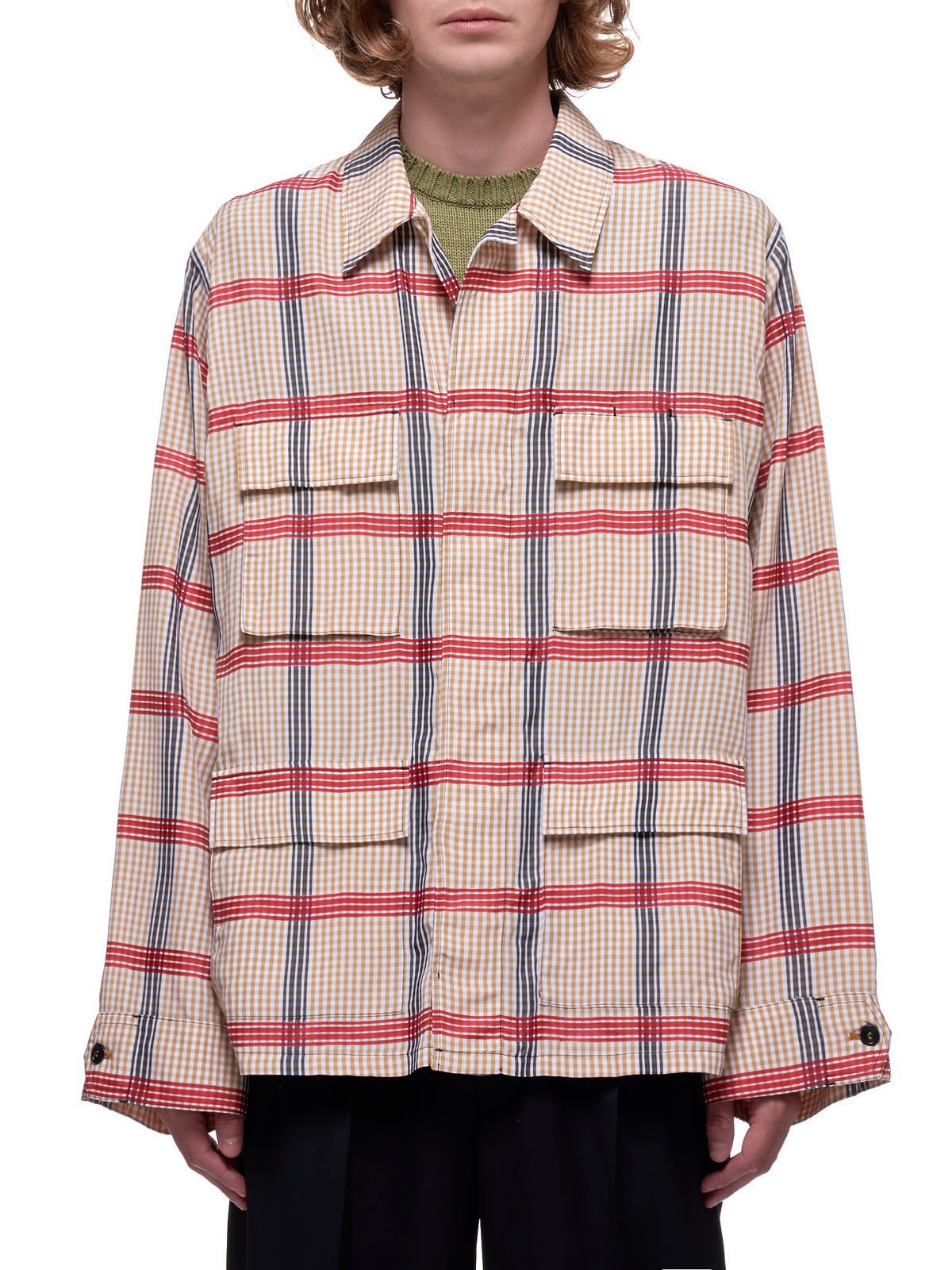 Check Shirt (JUMU0054U0-S52714-CHECK-MULTI)