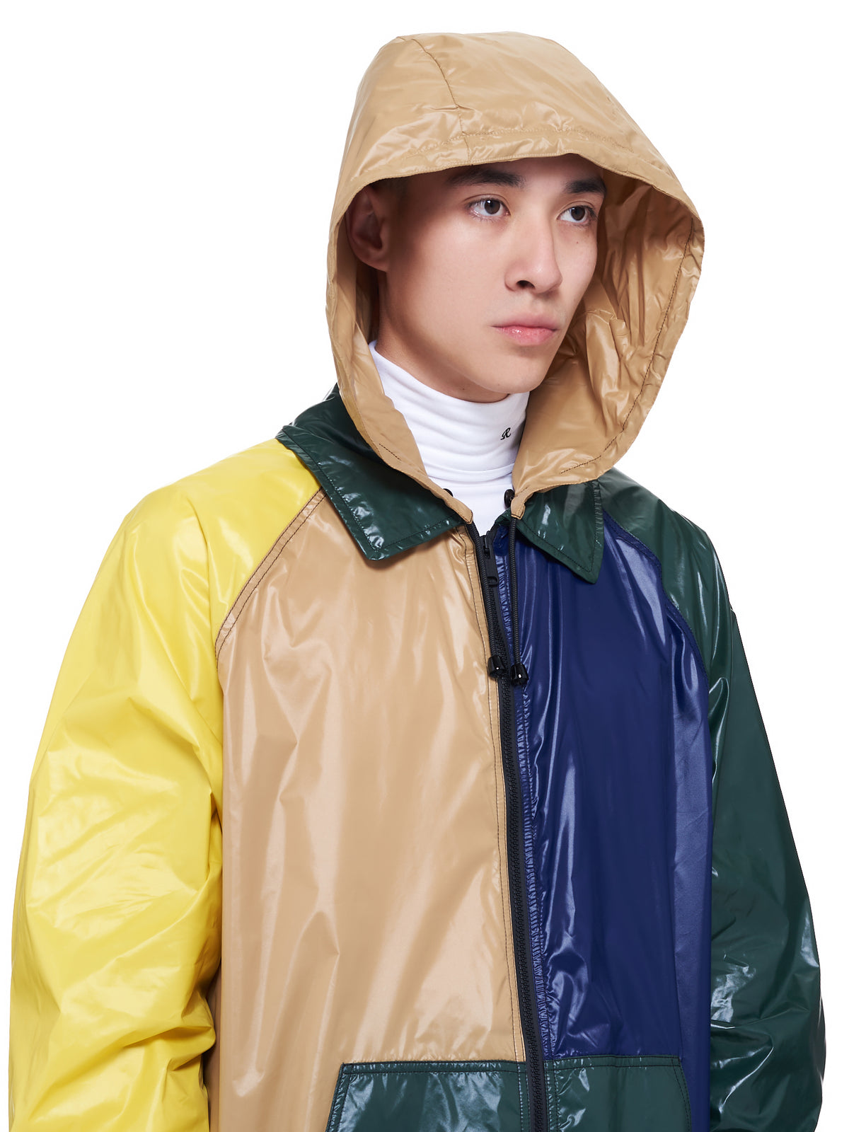 Colorblocked Windbreaker Jacket (JUMU0086Q0-S53656-MULTI)