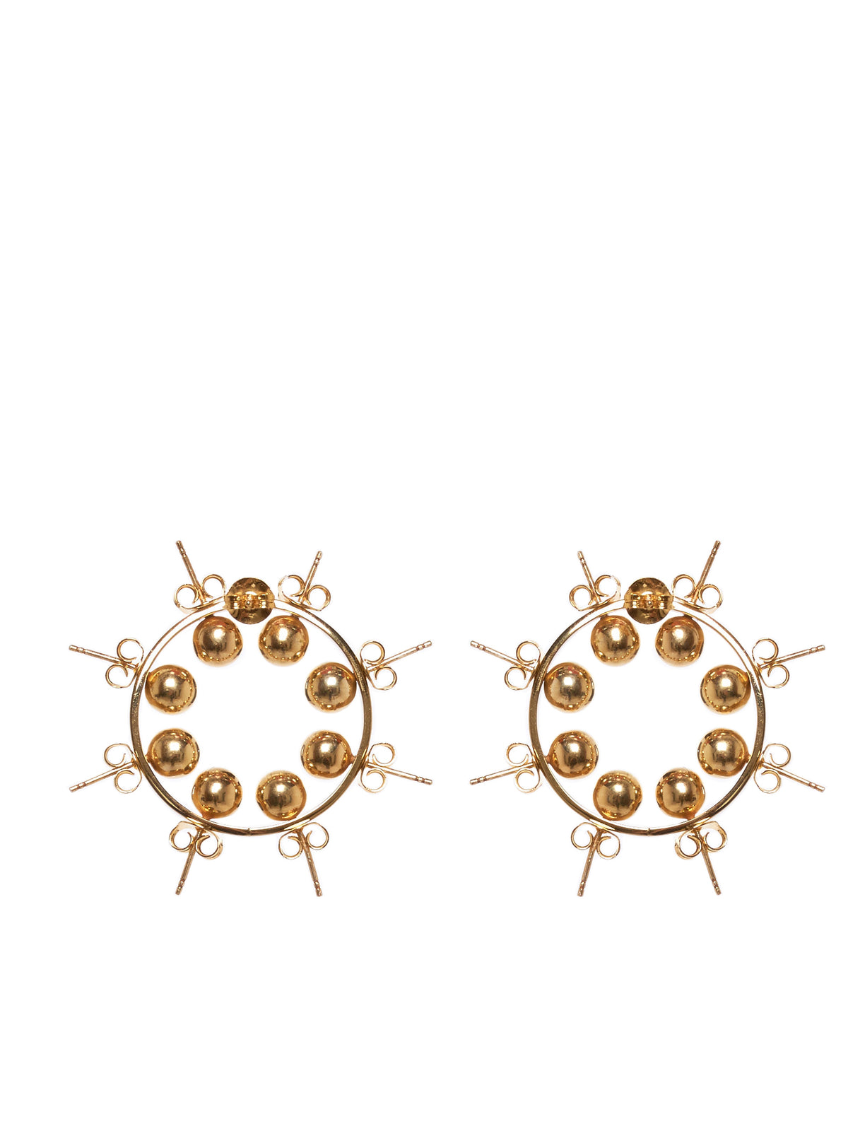 D'Heygere Earrings - Hlorenzo Back