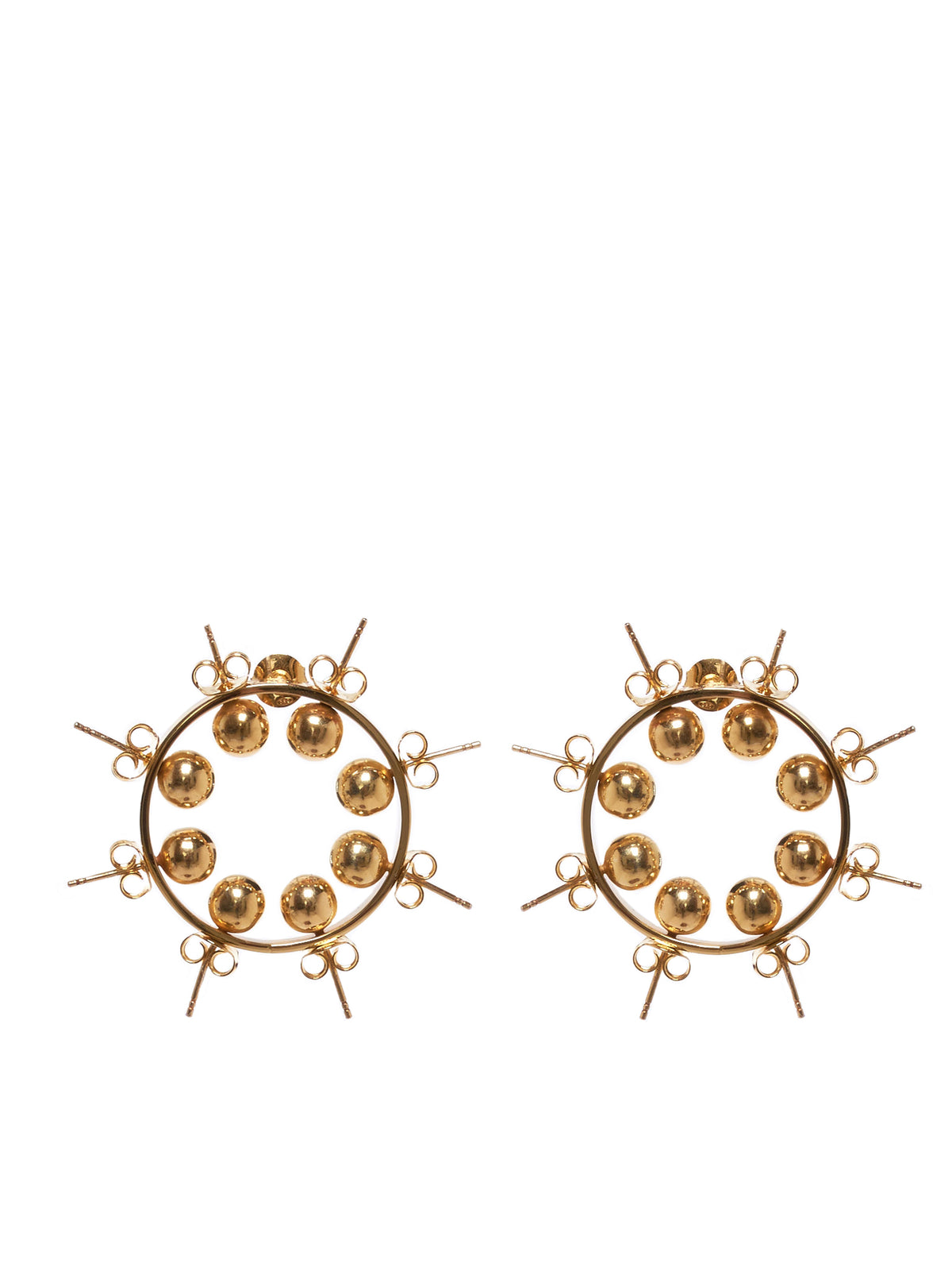 D'Heygere Earrings - Hlorenzo Front