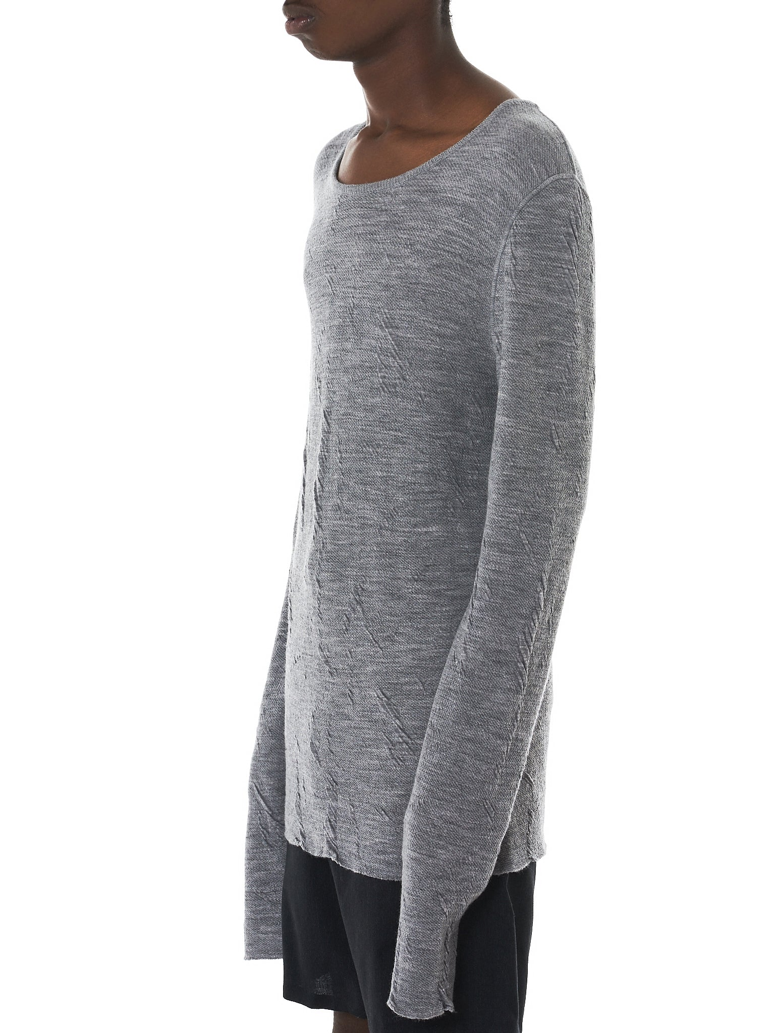 Deepti Long-Sleeve Tee - Hlorenzo Side