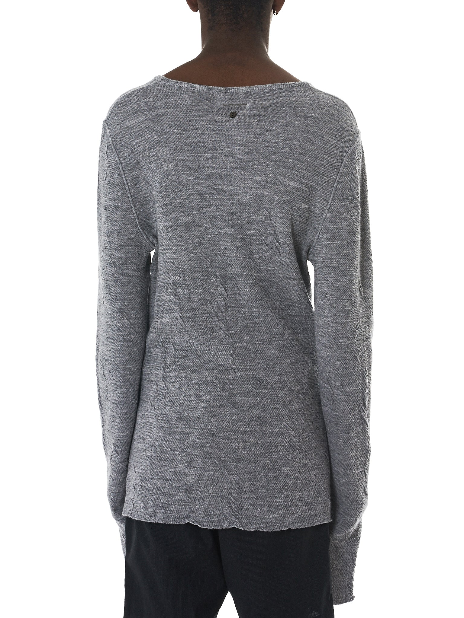 Deepti Long-Sleeve Tee - Hlorenzo Back