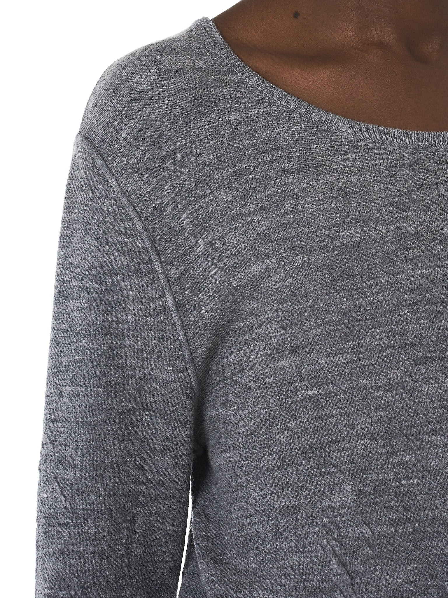 Deepti Long-Sleeve Tee - Hlorenzo Detail 1