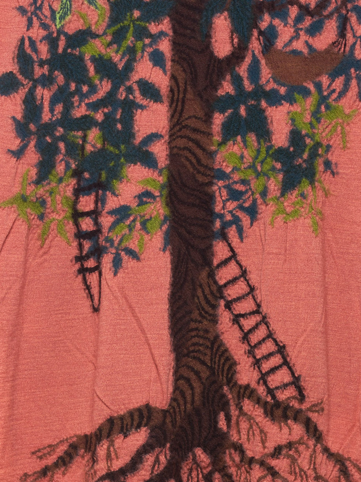 Treehouse Pattern Scarf (K1609XG546 MULTI)