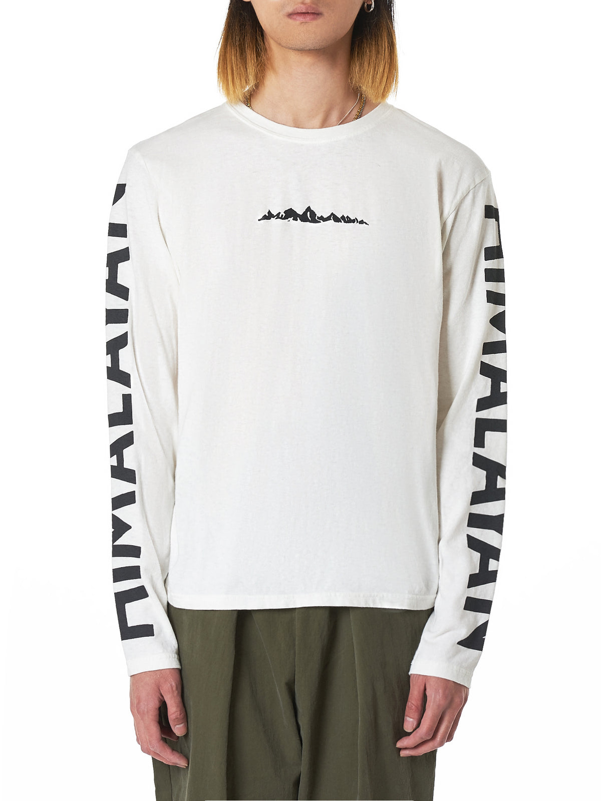 Kapital Long-Sleeve Tee Shirt - Hlorenzo Front