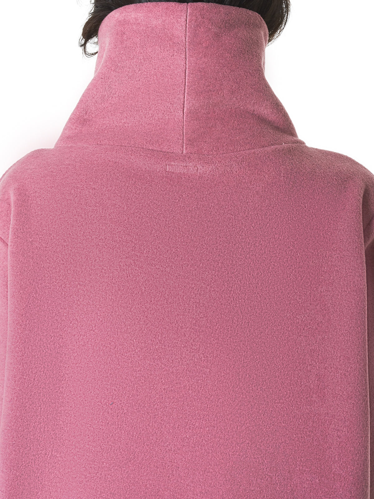 Funnel-Neck Pullover (K1810LC153-PINK)