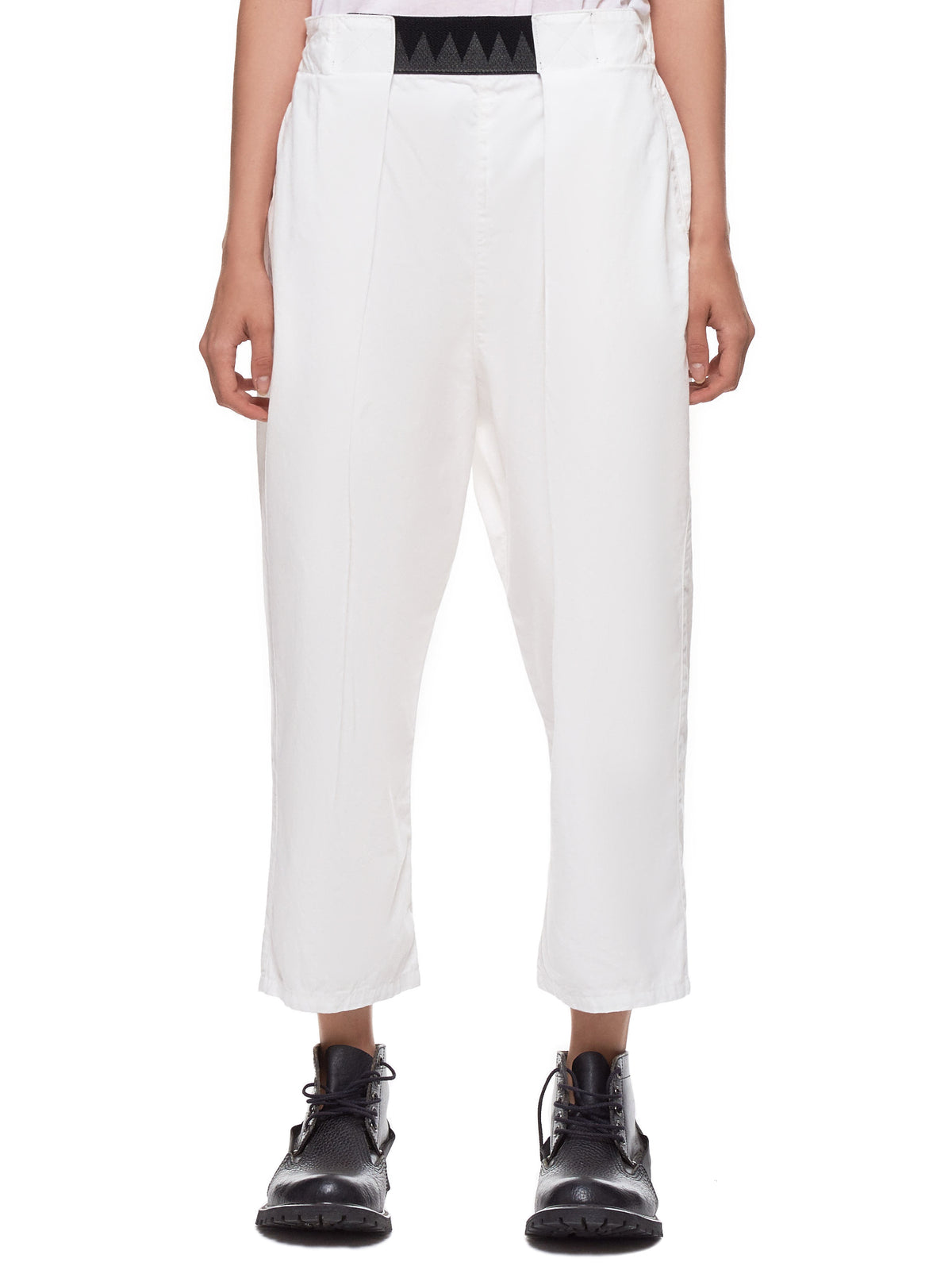 Cropped Trousers (K1903LP066-WHITE)