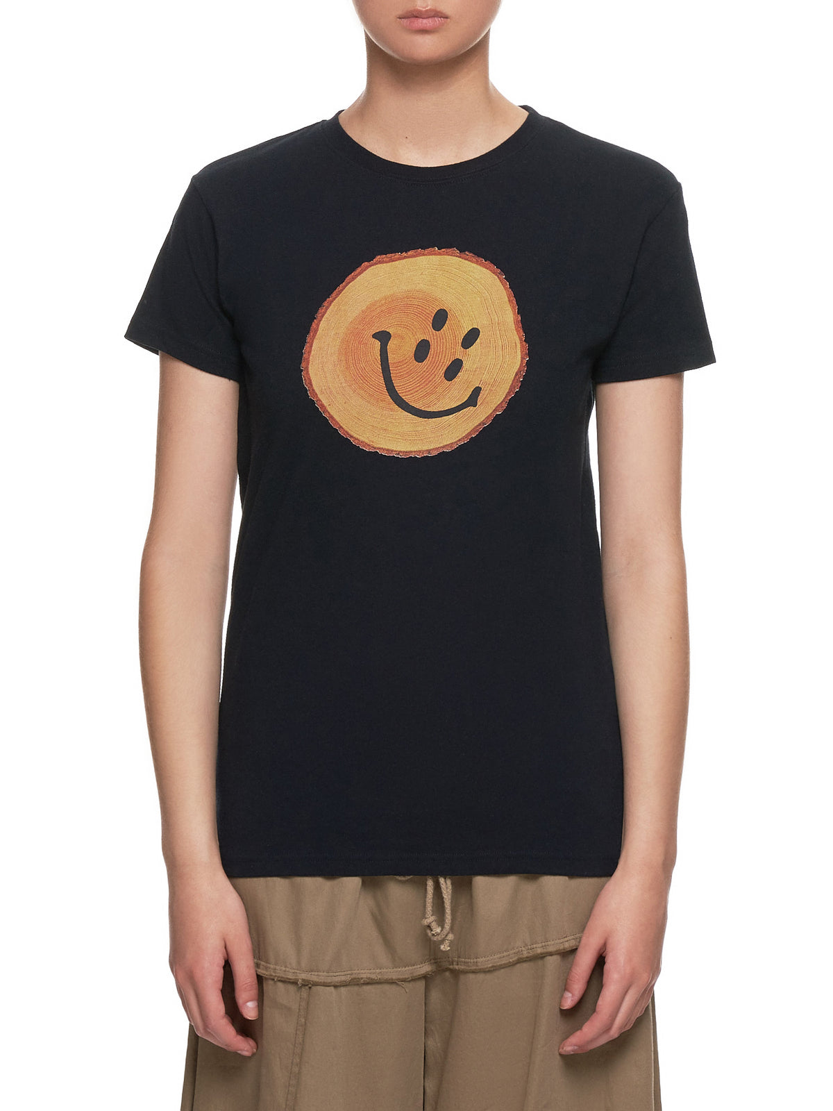 'Smile' T-Shirt (K1904SC111-BLACK)