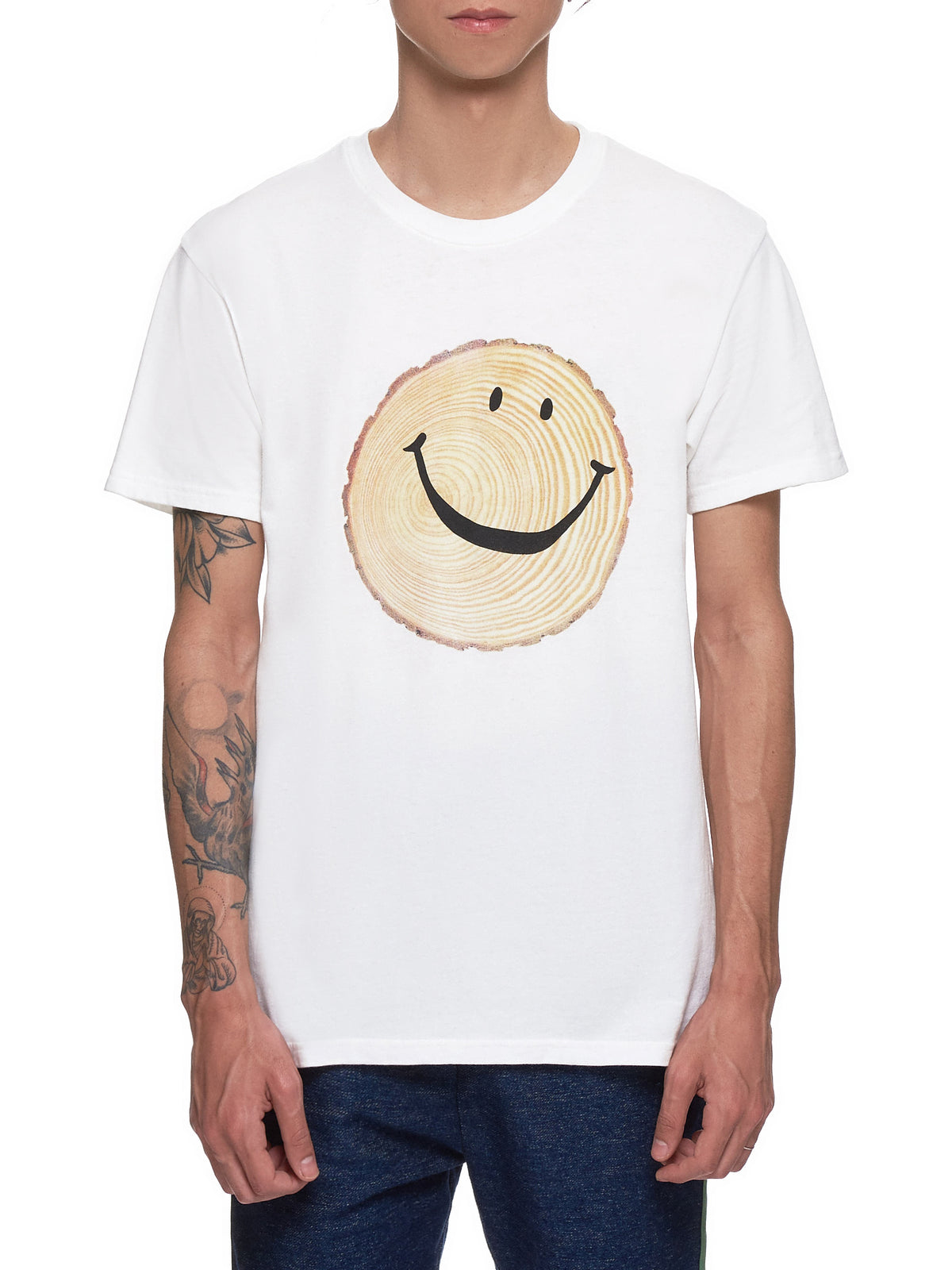 'Smile' T-Shirt (K1904SC112-WHITE)