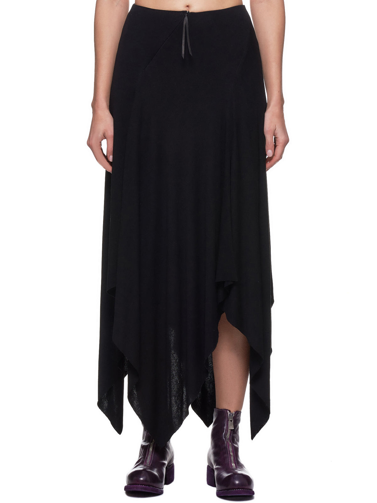 Slashed Skirt (K630-JVE1-BLACK)