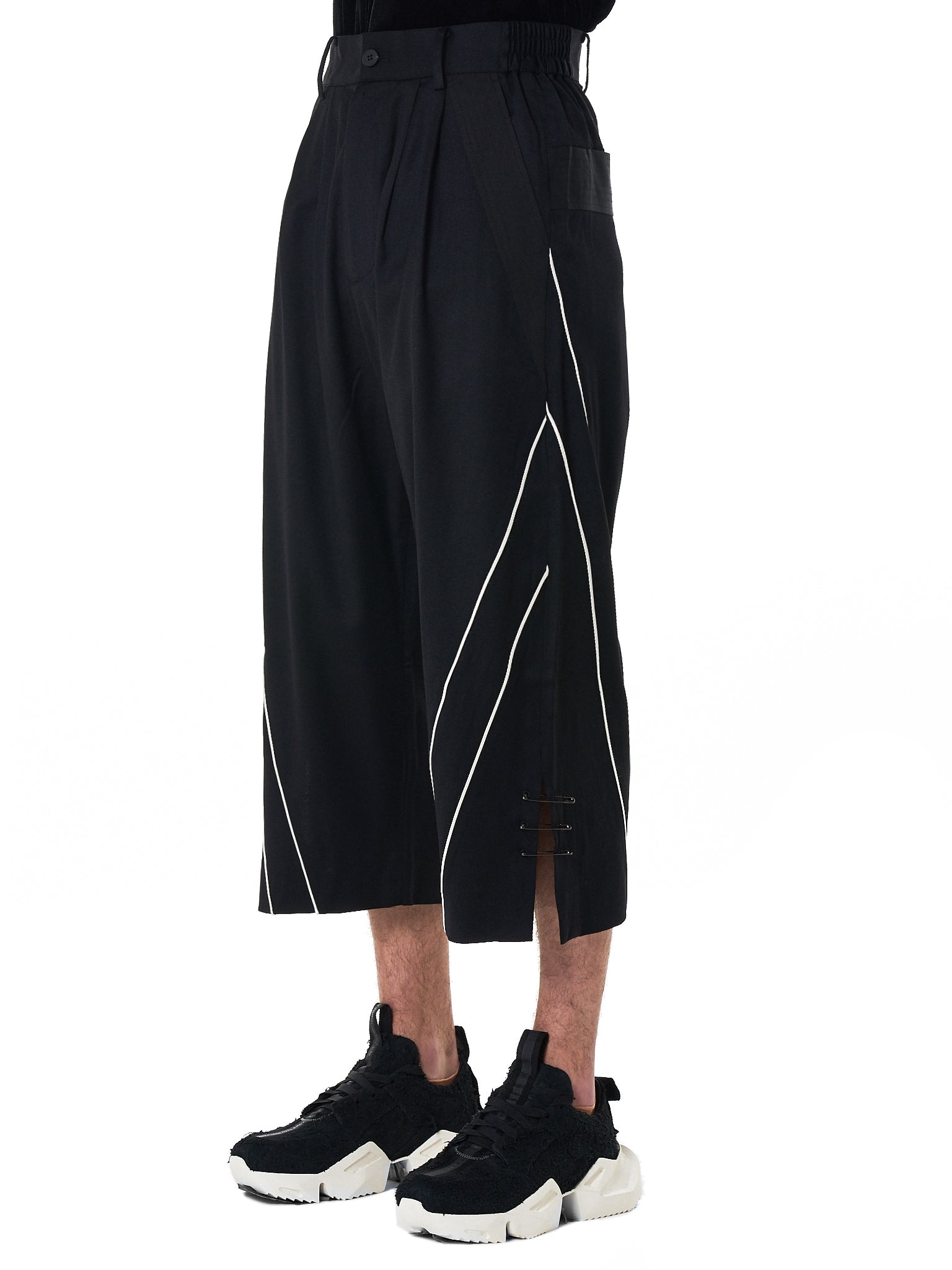 D.Gnak Cropped Trouser - Hlorenzo Side