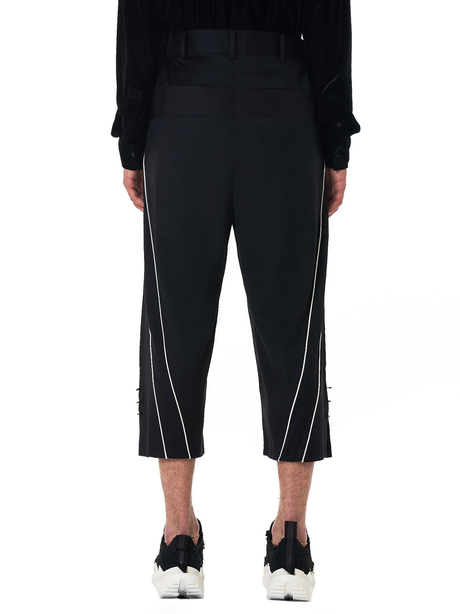 D.Gnak Cropped Trouser - Hlorenzo Back