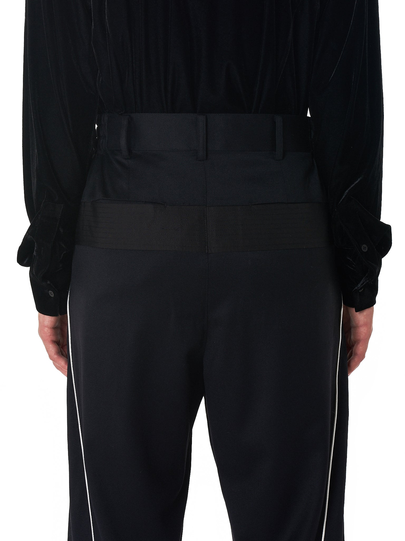 D.Gnak Cropped Trouser - Hlorenzo Back Detail