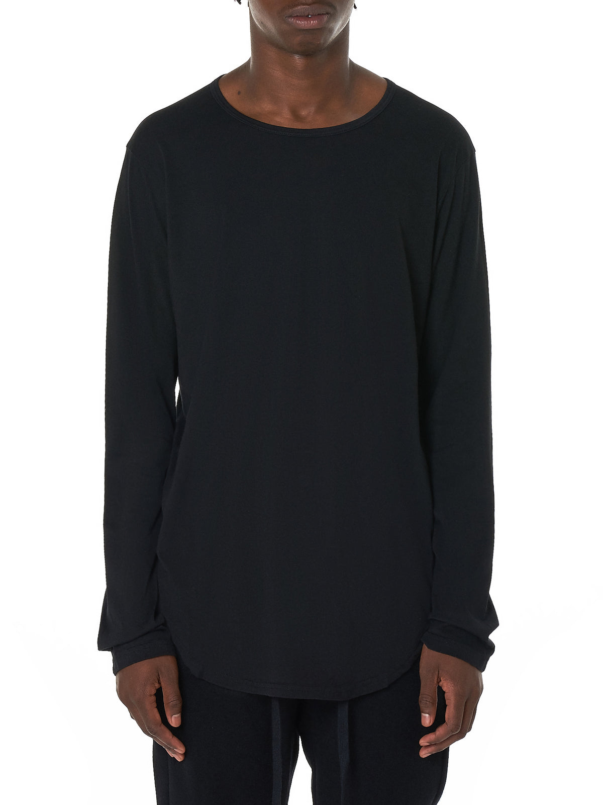 Attachment Long-Sleeve Tee Shirt - Hlorenzo Front
