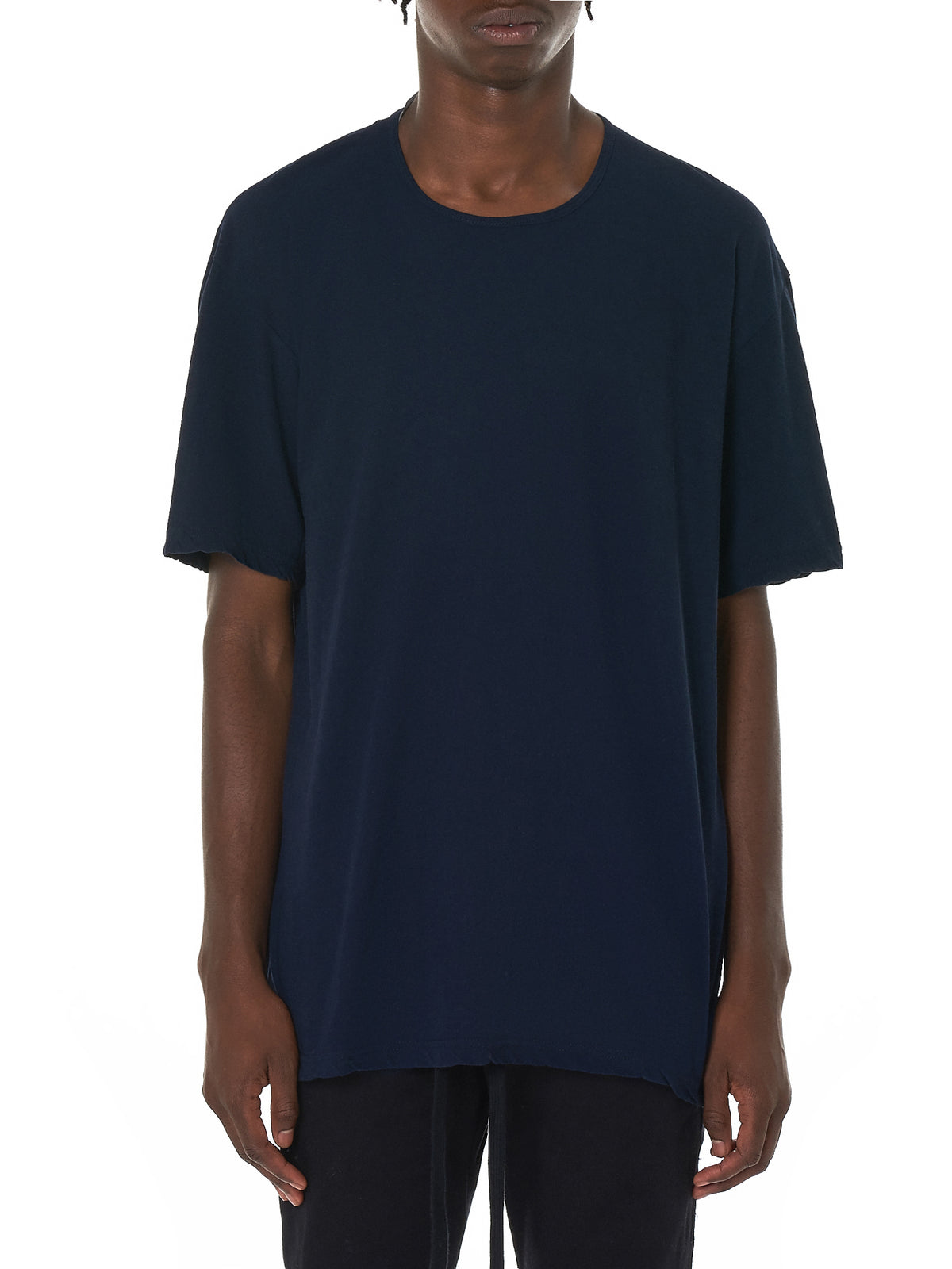 Attachment Blue Tee Shirt - Hlorenzo Front
