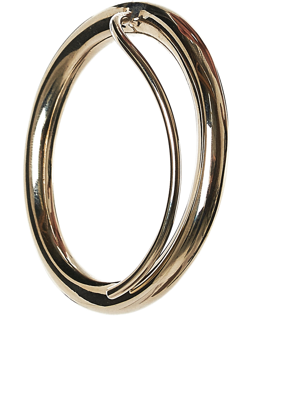 Gold Hoop Earring (KMH07-GOLD)