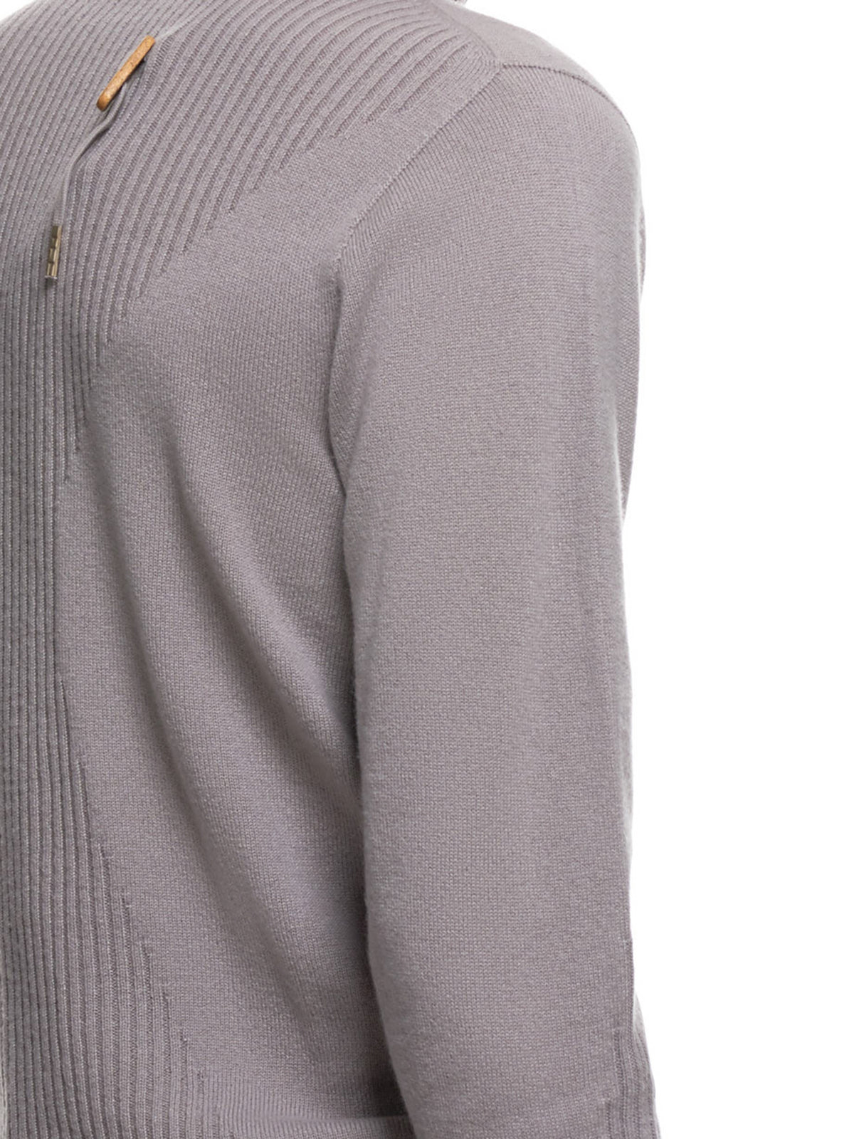 Cashmere Turtleneck (KN6-FPI30001-LIGHT-GREY)