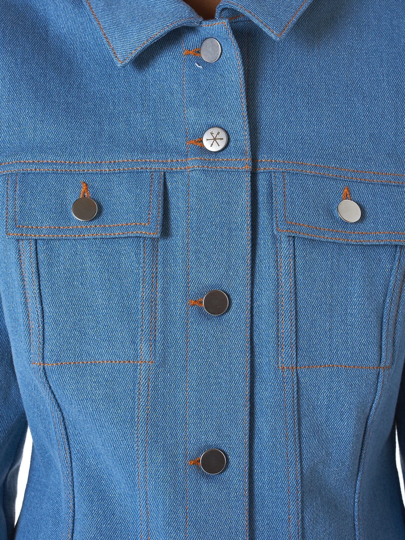 Kreist Denim Jacket - Hlorenzo Detail 2