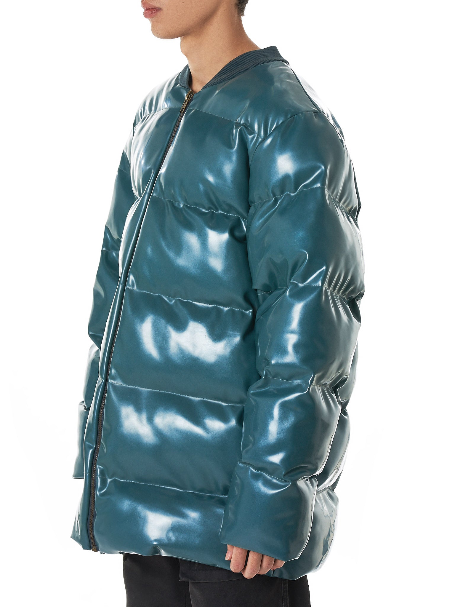 Arthur Avellano Latex Jacket - Hlorenzo Side