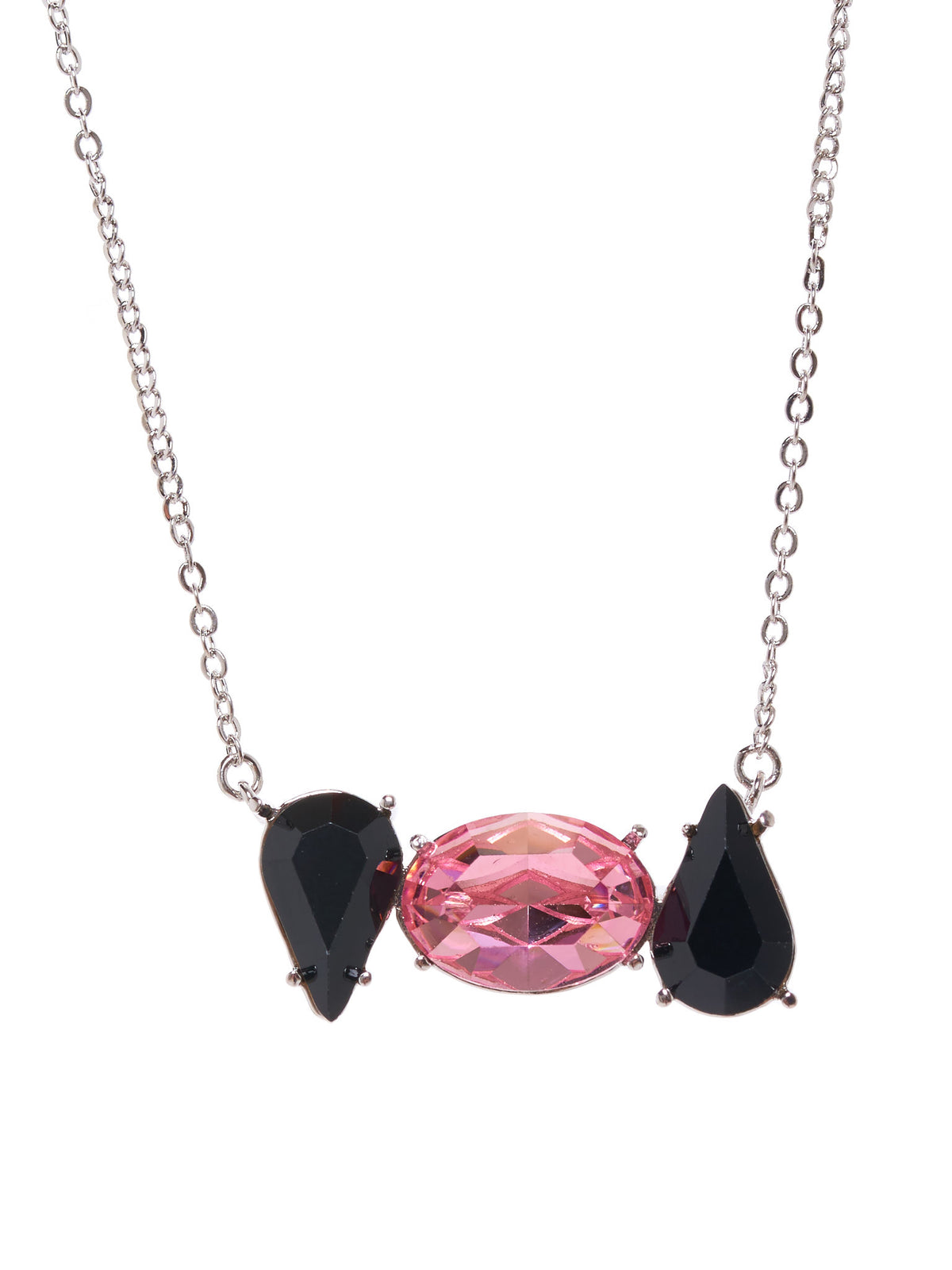 Swarovski Necklace (LC-A15-512-PINK)