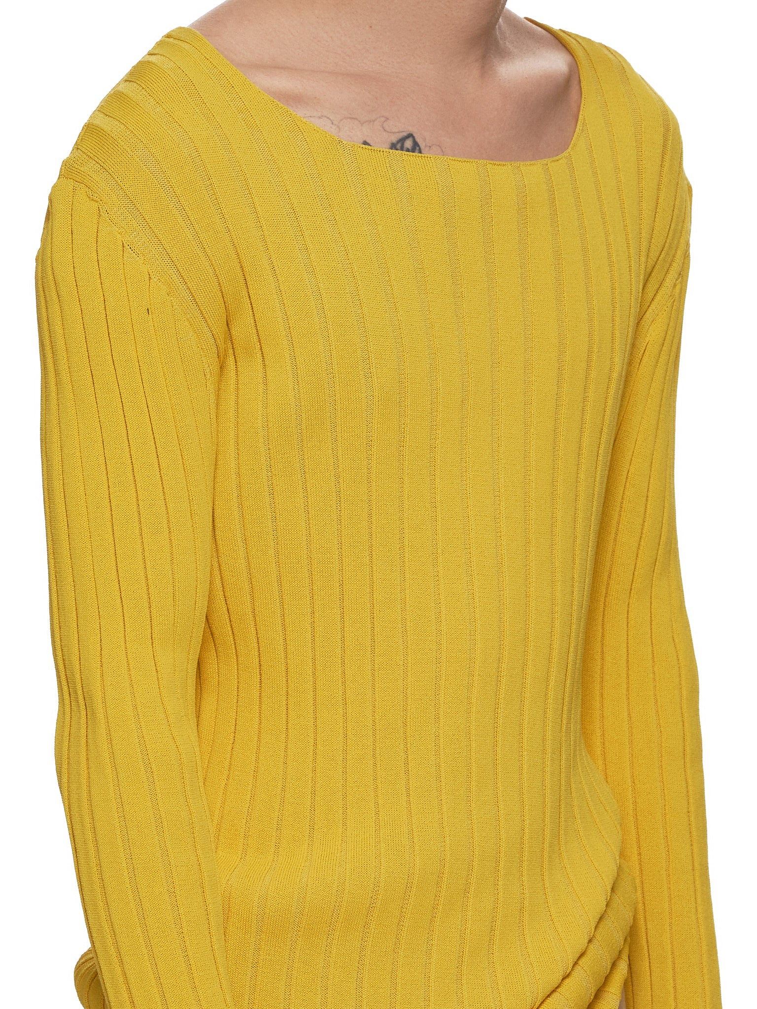 Ludovic de Saint Sernin Sweater - Hlorenzo Detail 1