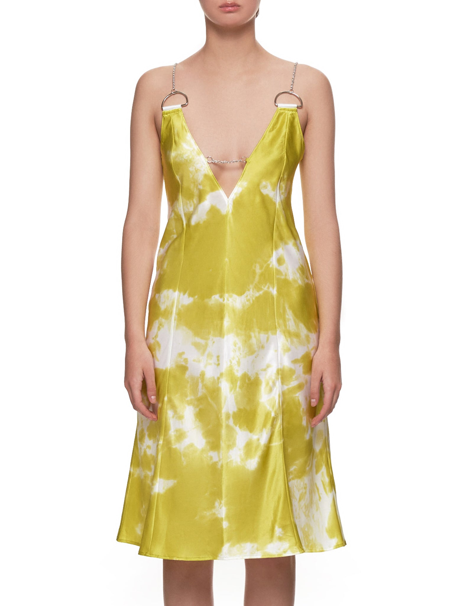 'Le Diamant' Dress (LE-DIAMANT-YELLOW-TIE-DYE)