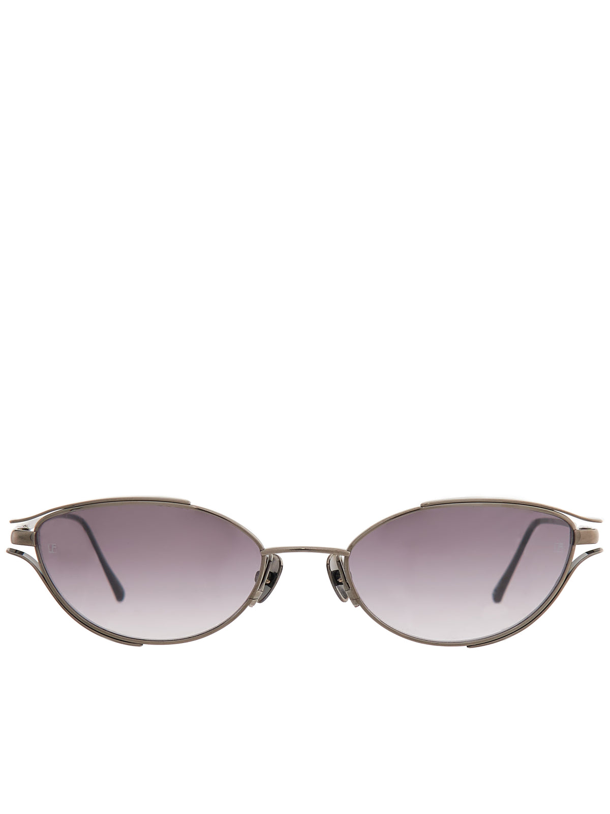 Cat-Eye Sunglasses (LFL947C5SUN-NICKEL-GREY-GRAD)
