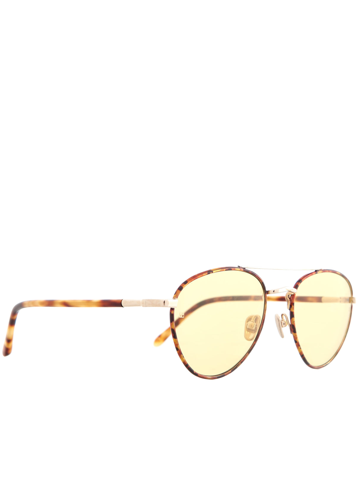 Aviator Sunglasses (LFL954C7SUN-GOLD-YELLOW)